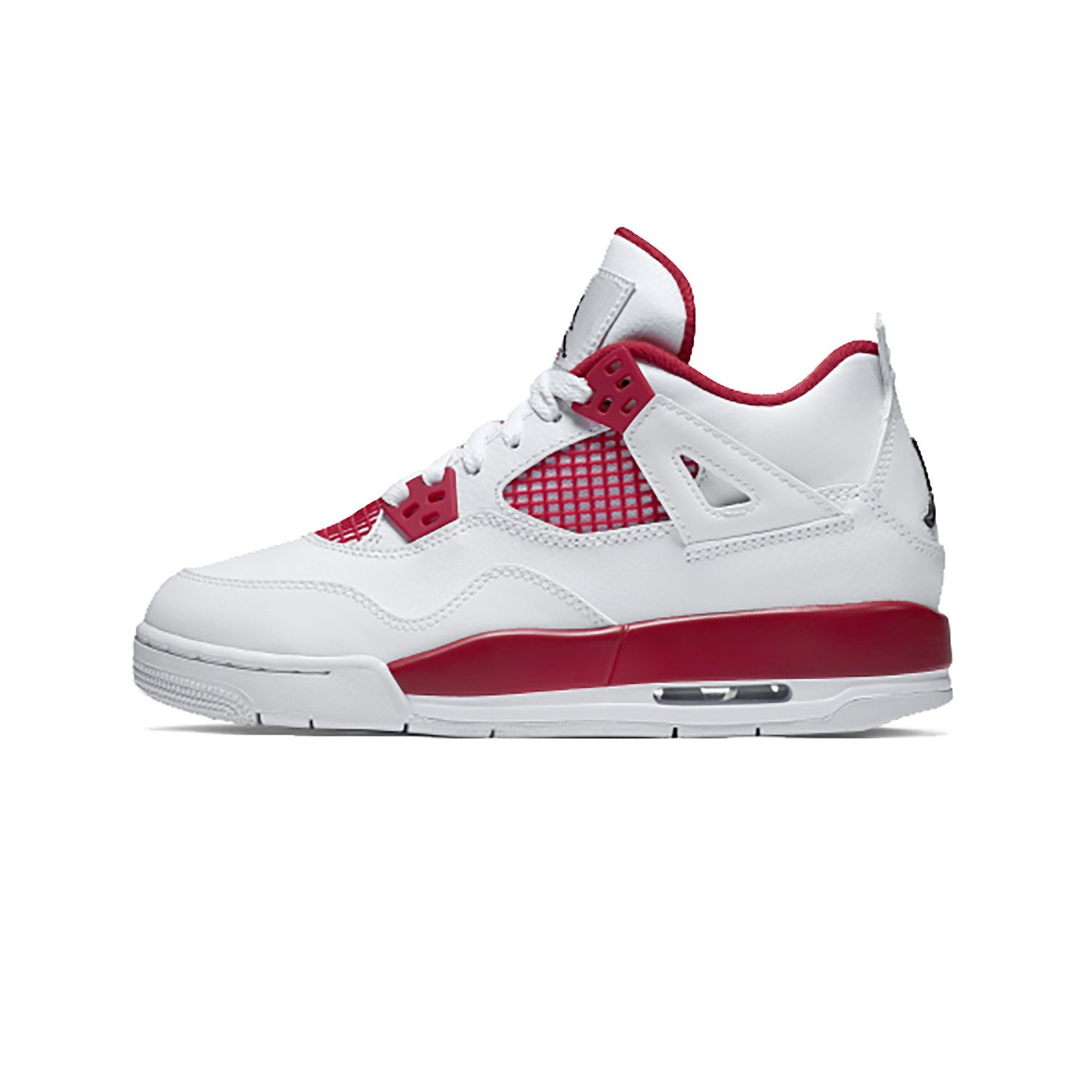 Jordan Air Jordan 4 Retro GS Alternate White / Gym Red / Black 408452-106-40
