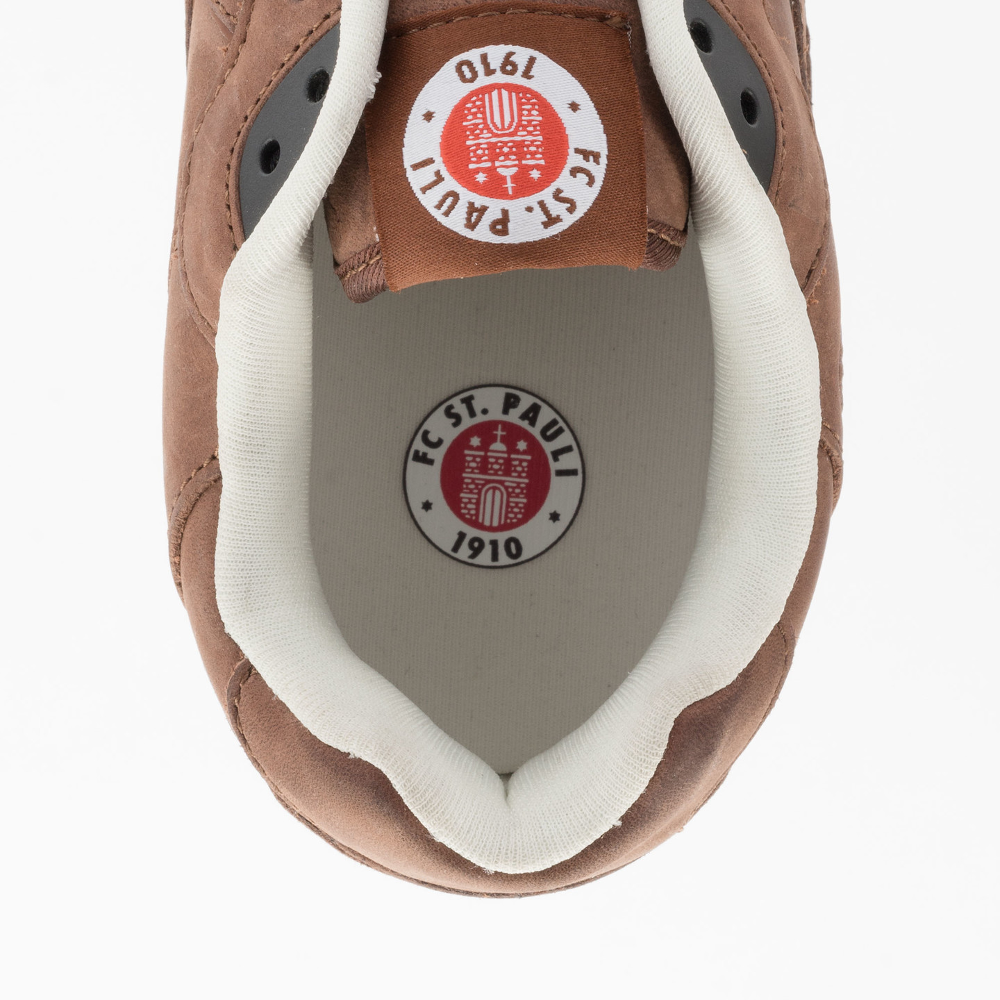 Hummel Marathona Low x St.Pauli Dark Brown 63-821-8225-45