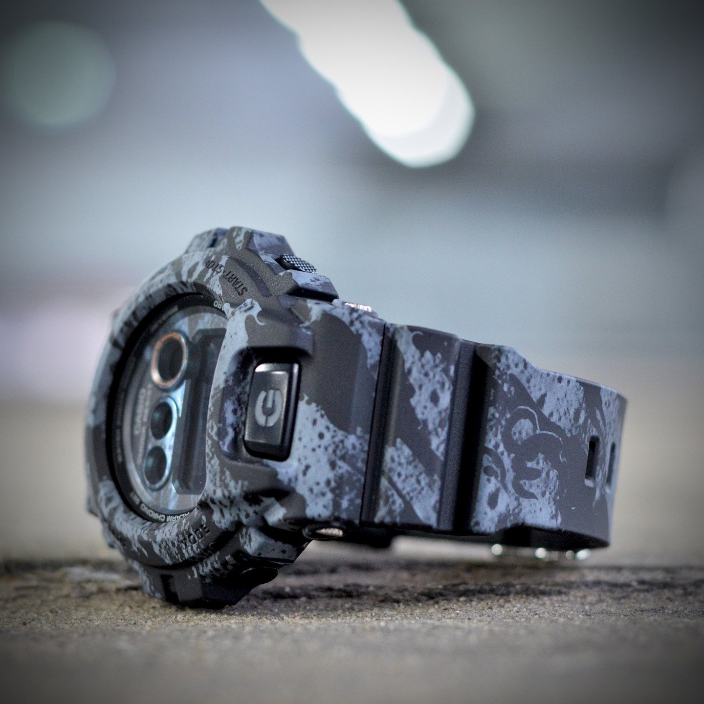 Casio G-Shock x Maharishi Stone Grey / Black GD-X6900MH-1ER