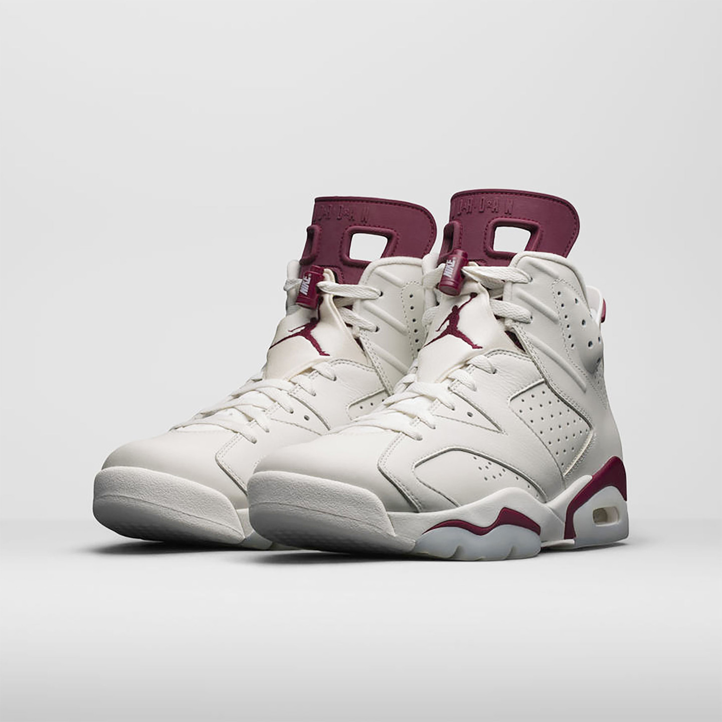 Jordan Air Jordan 6 Retro ´Maroon´ Off White / New Maroon 384664-116-47