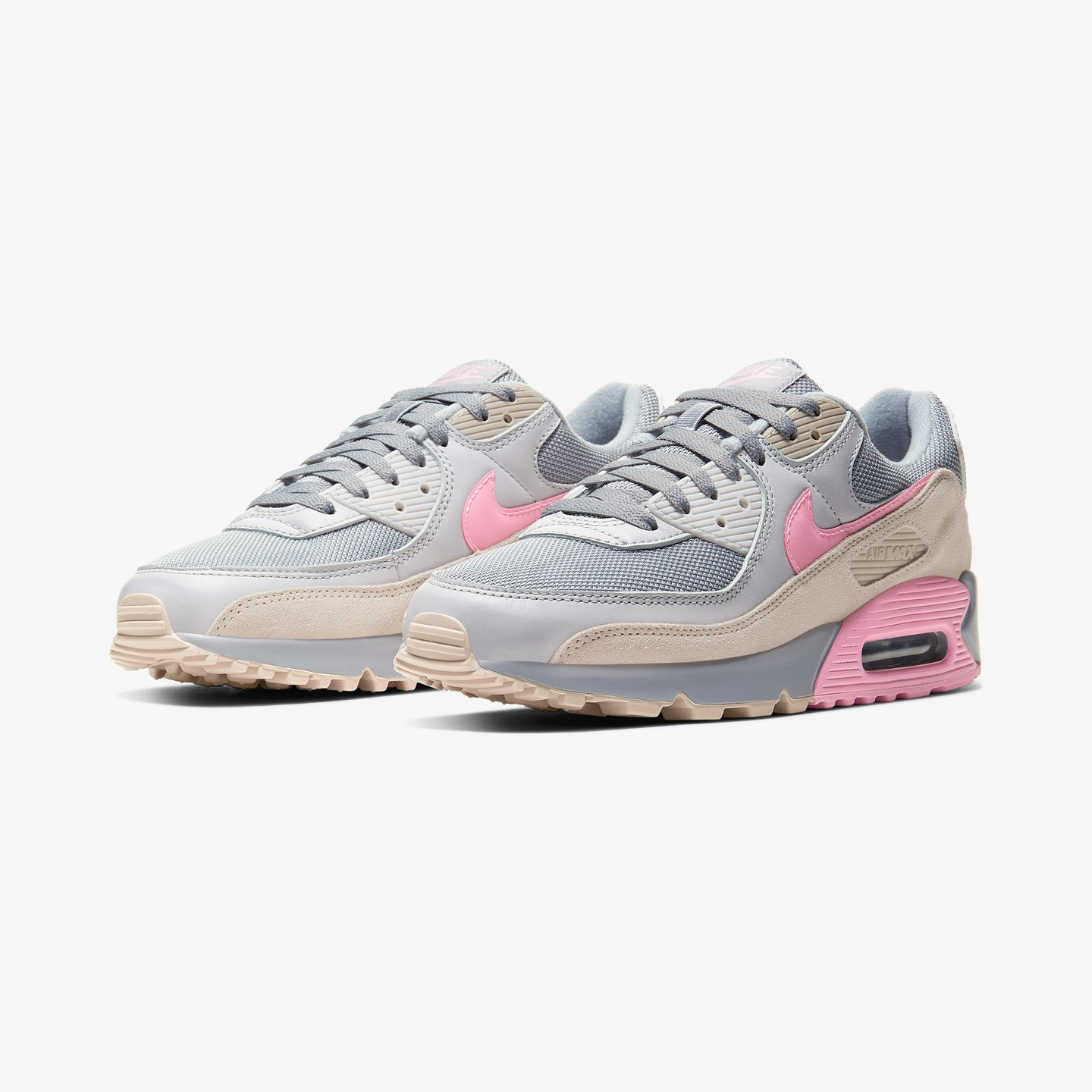 Nike Air Max 90 Vast Grey / Pink / Wolf Grey / String CW7483-001