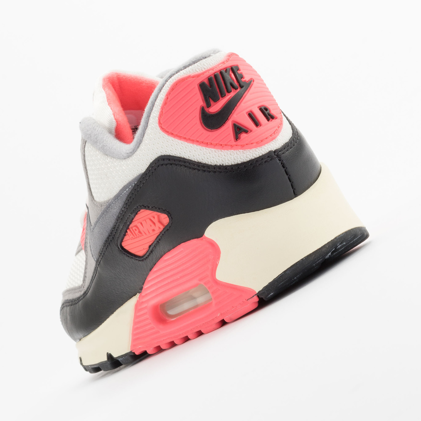 Nike Air Max 90 OG Vintage Infrared Sail/Cool Grey-Mdm Grey-Infrrd 543361-161-41