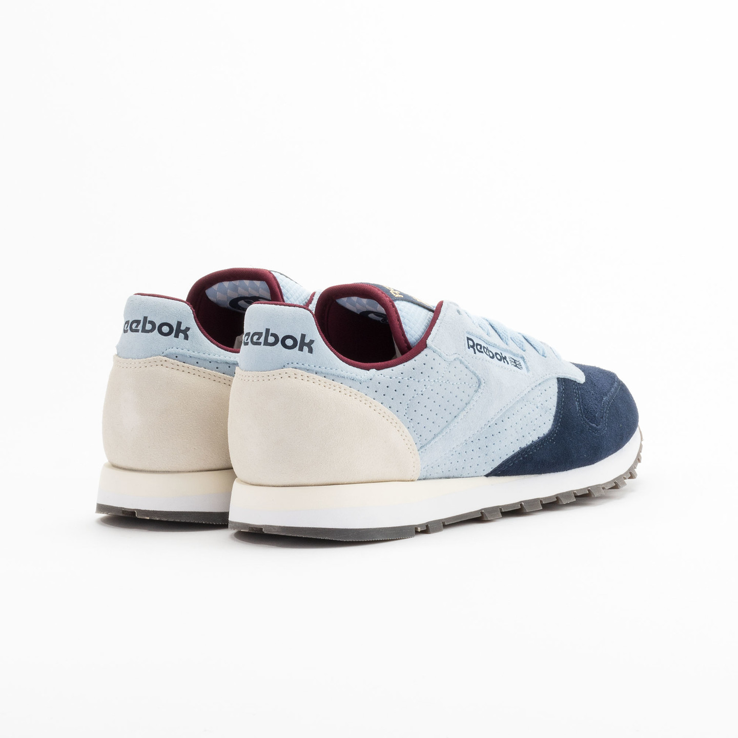 Reebok Classic Leather Int Navy / Light Blue / Sand V66829-42.5