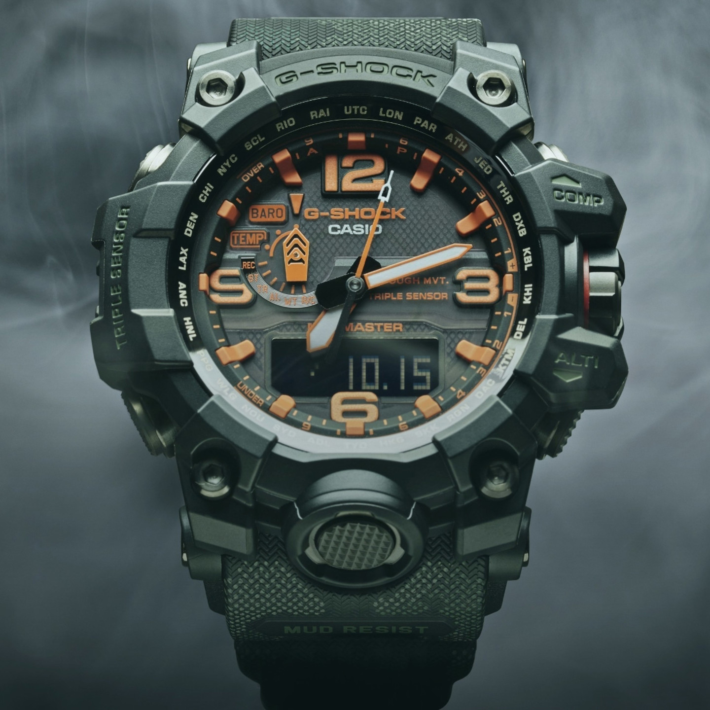 Casio G-Shock Mudmaster x Maharishi British Bonsai Forest GWG-1000MH-1AER-ONE-SIZE