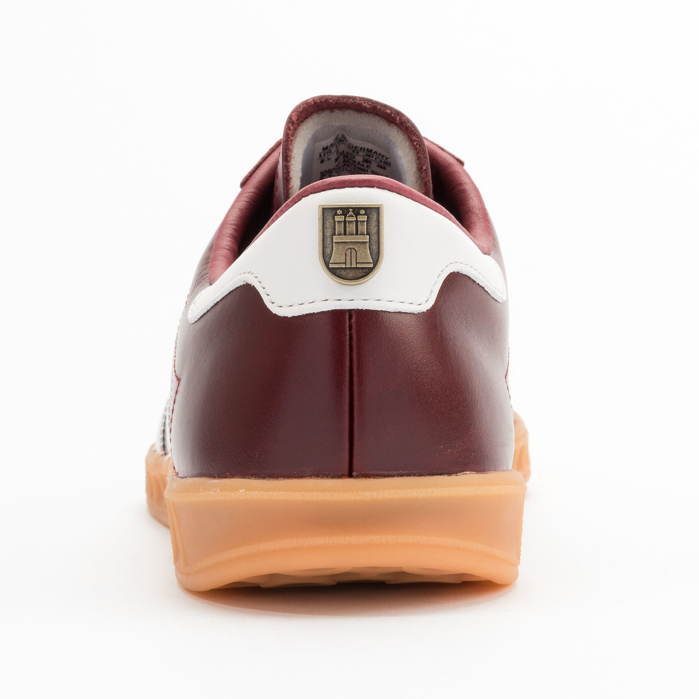 Adidas Hamburg - Made in Germany Burgundy / White / Gold / Gum S31603-46