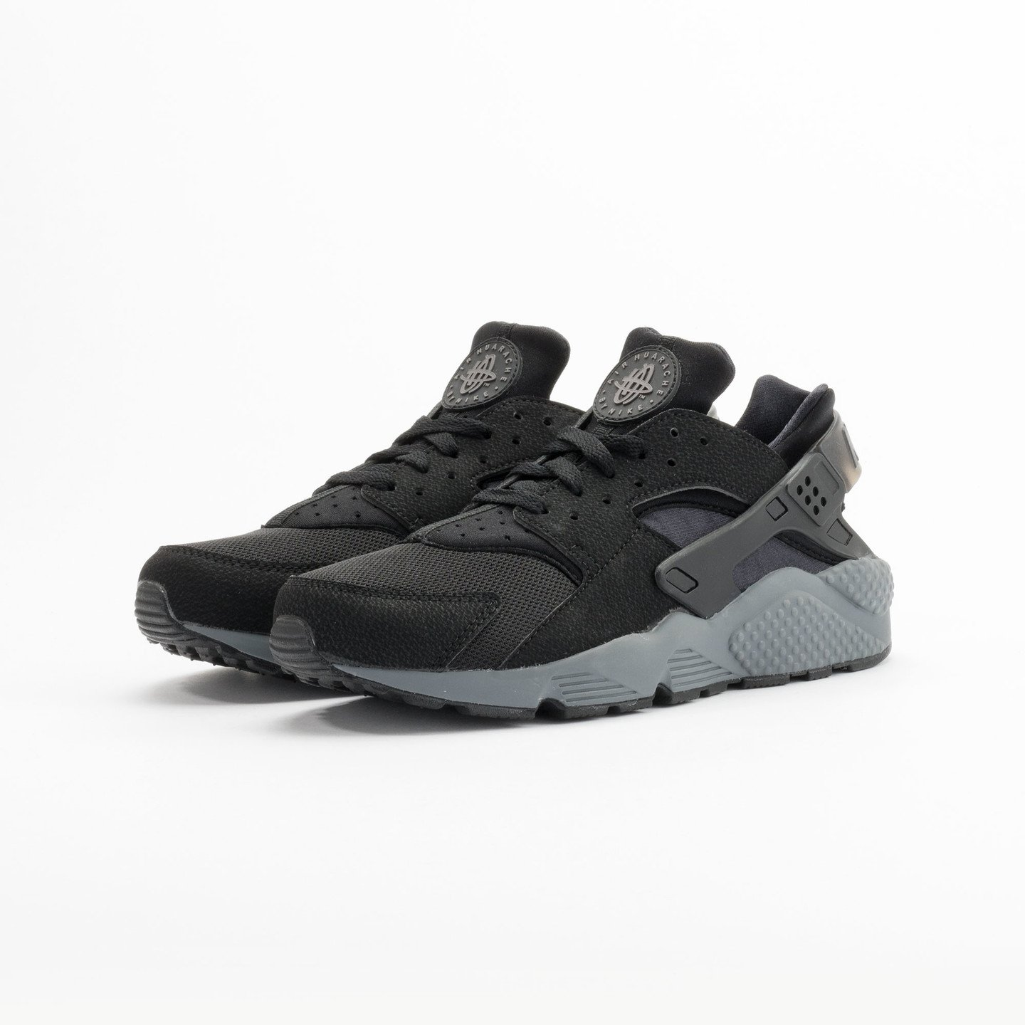 Nike Air Huarache Black / Dark Grey 318429-010-45.5