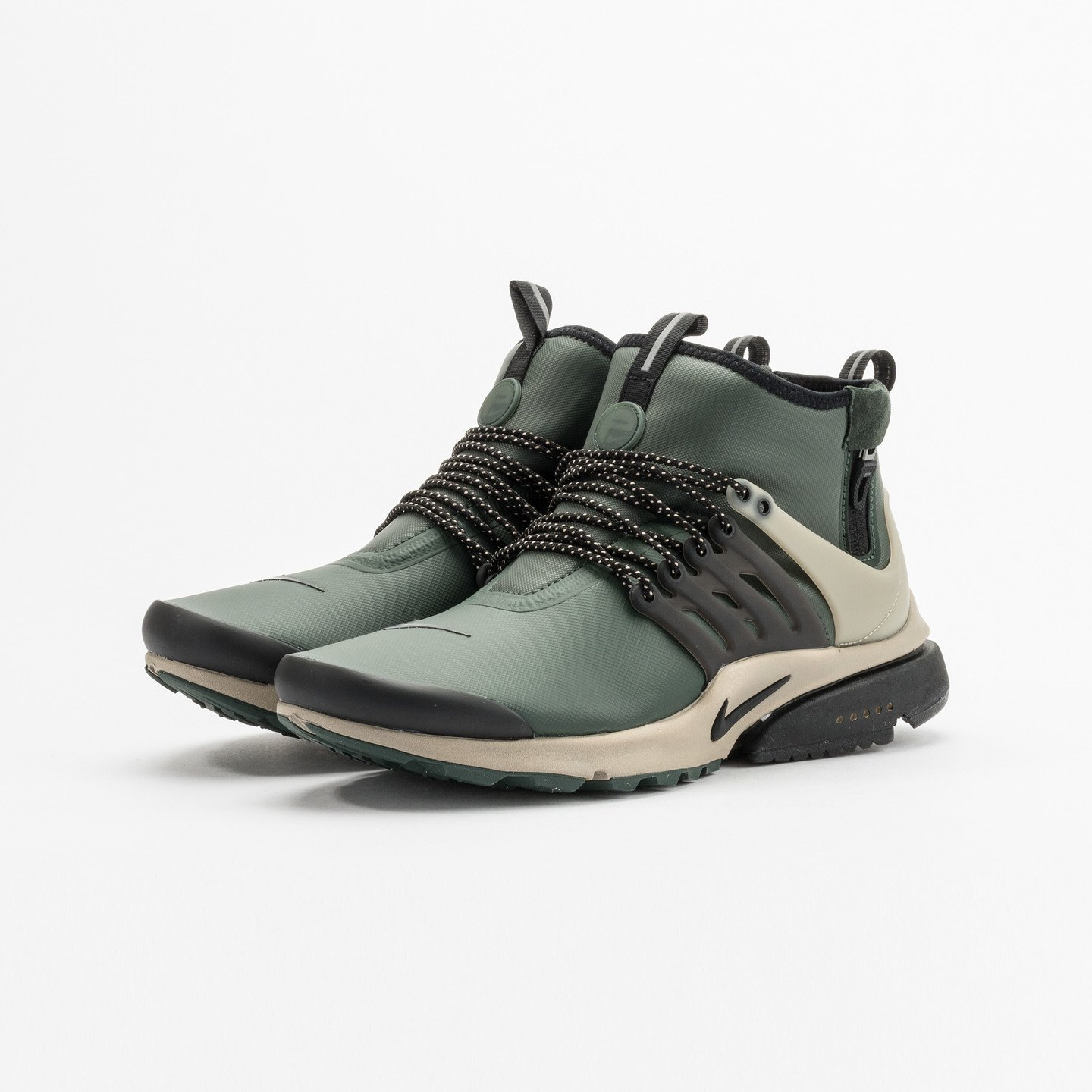 Nike Air Presto Mid Top Utility Grove Green / Black - Khaki 859524-300-44