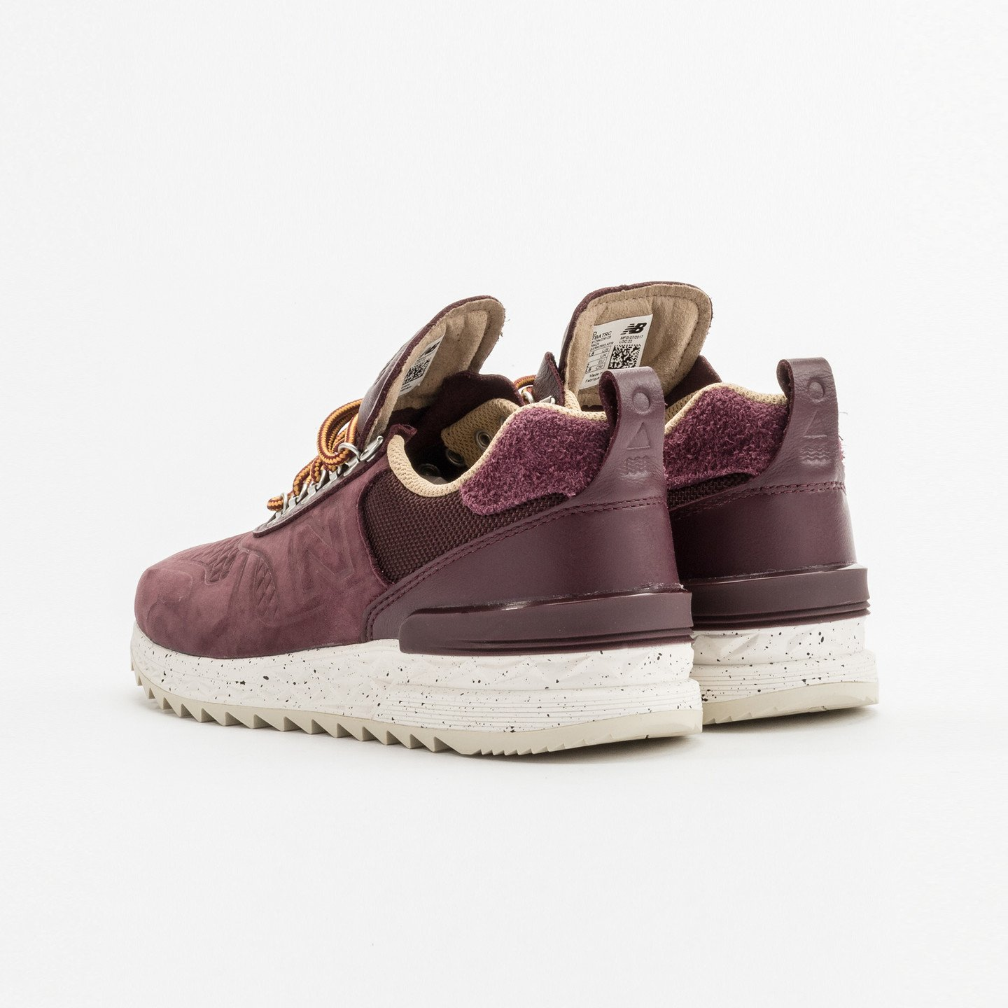 New Balance Trailbuster Burgundy / Speckled White / Off-White TBATRC