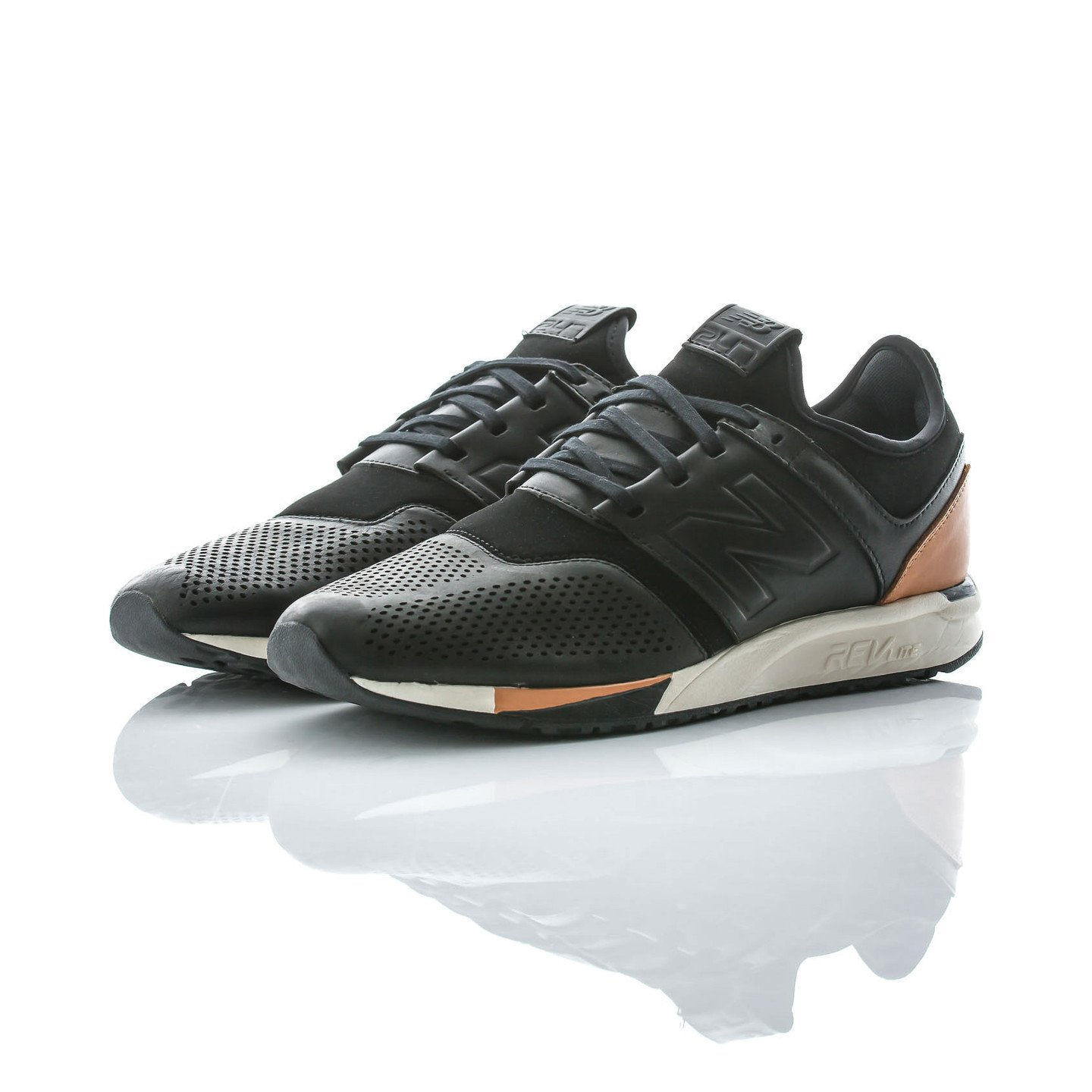New Balance MRL 247 'Luxe Pack' Black / Brown / Cream MRL247BL-45