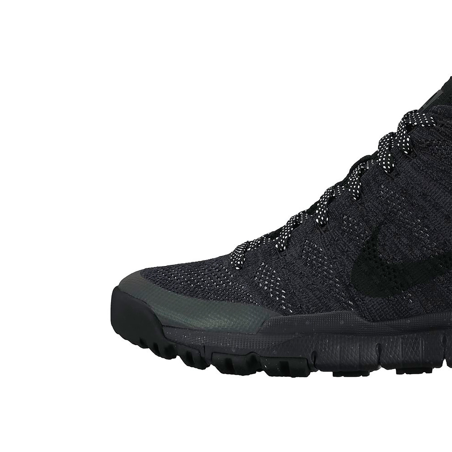 Nike Flyknit Trainer Chukka Sneakerboot Black / Anthracite 805092-001-44.5