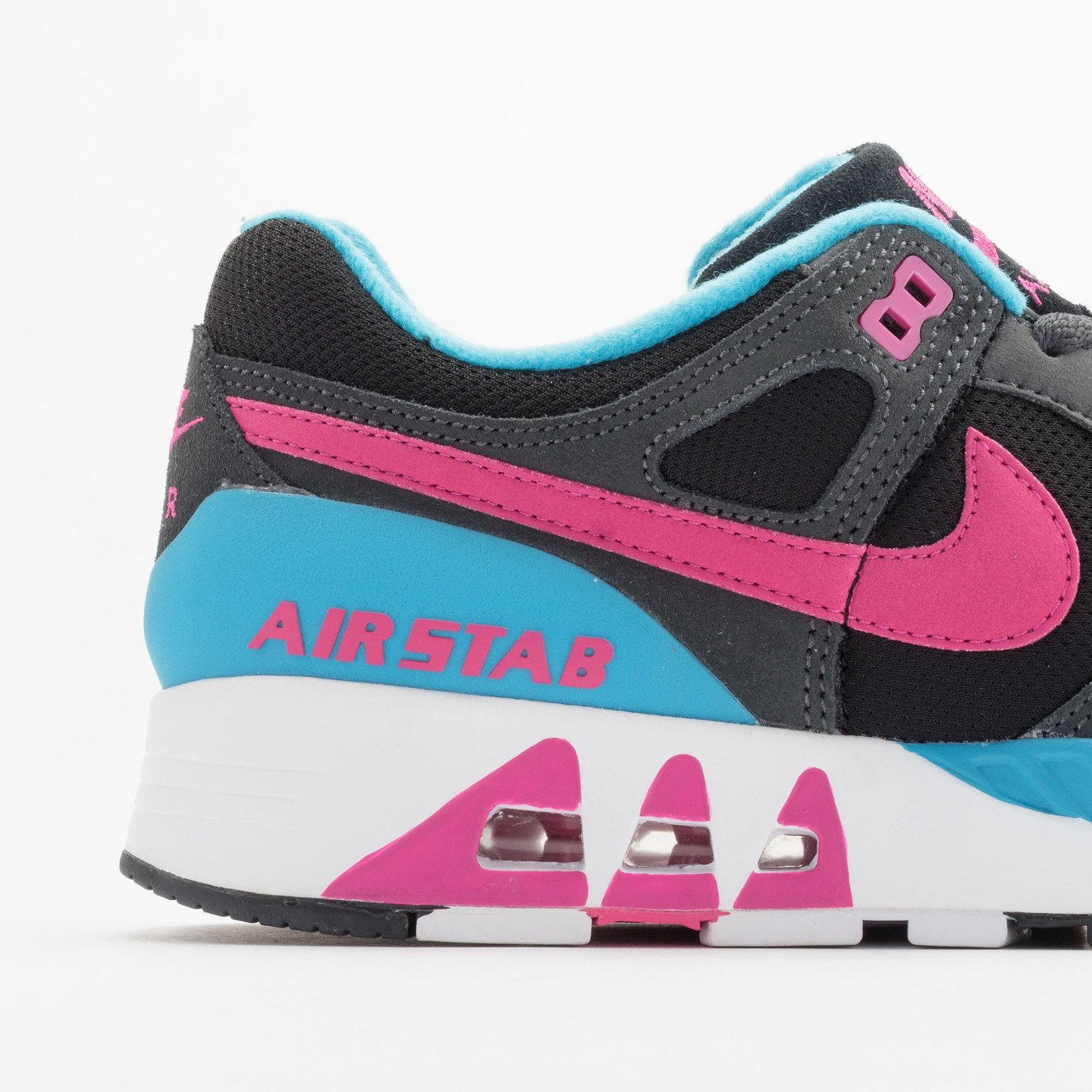 Nike Air Stab Black/Hot Pink-Anthrct-Bl Lgn 312451-004-42.5