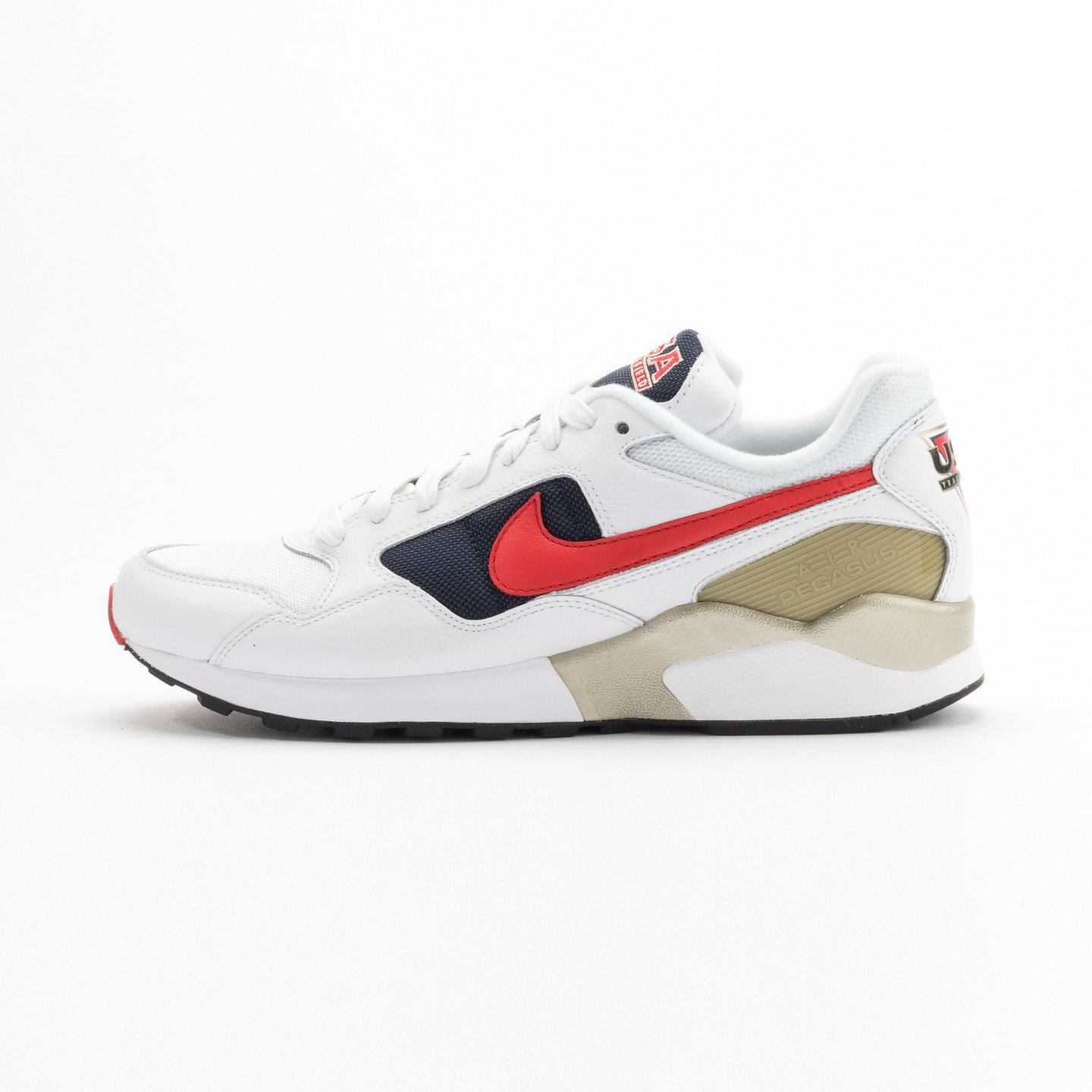 Nike Air Pegasus ´92 Premium White / University Red / Midnight Navy 844964-100-44