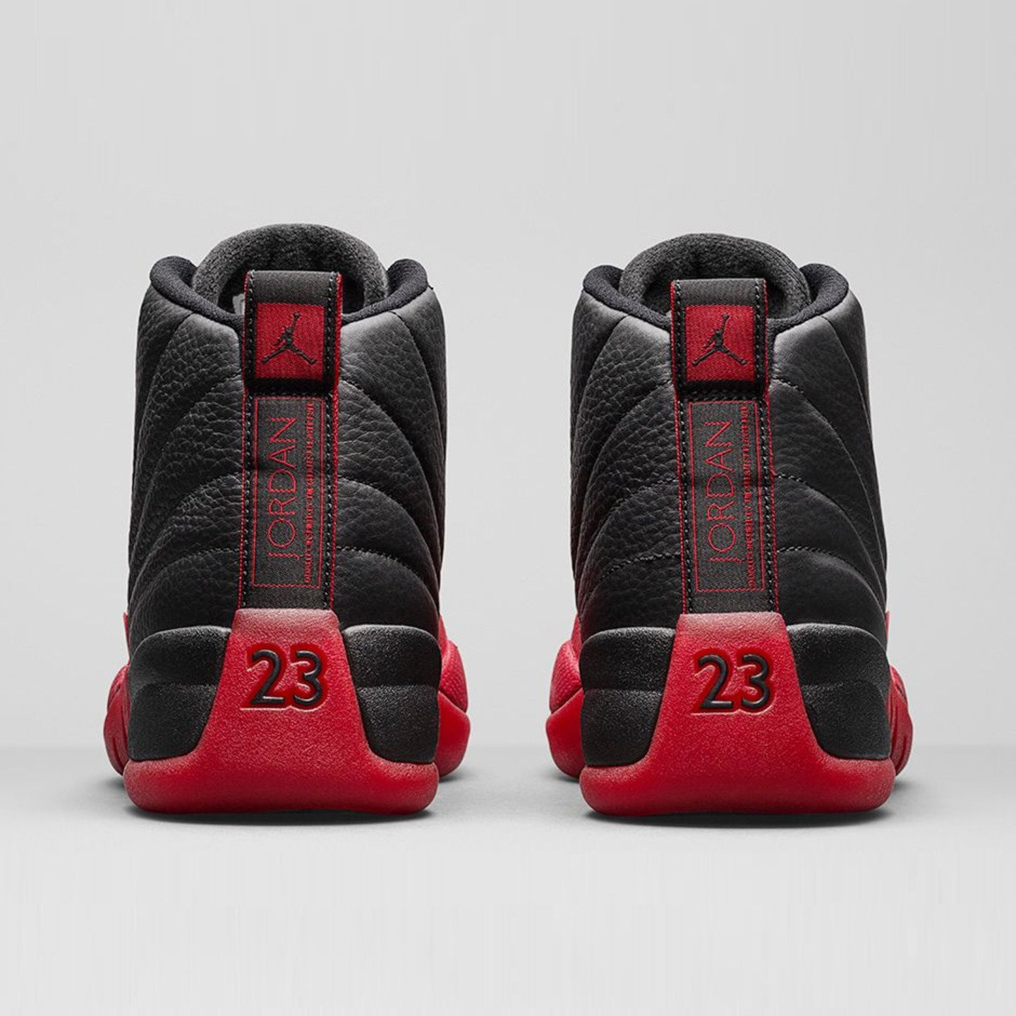Jordan Air Jordan 12 Retro 'Flu Game' Black / Varsity Red 130690-002-44