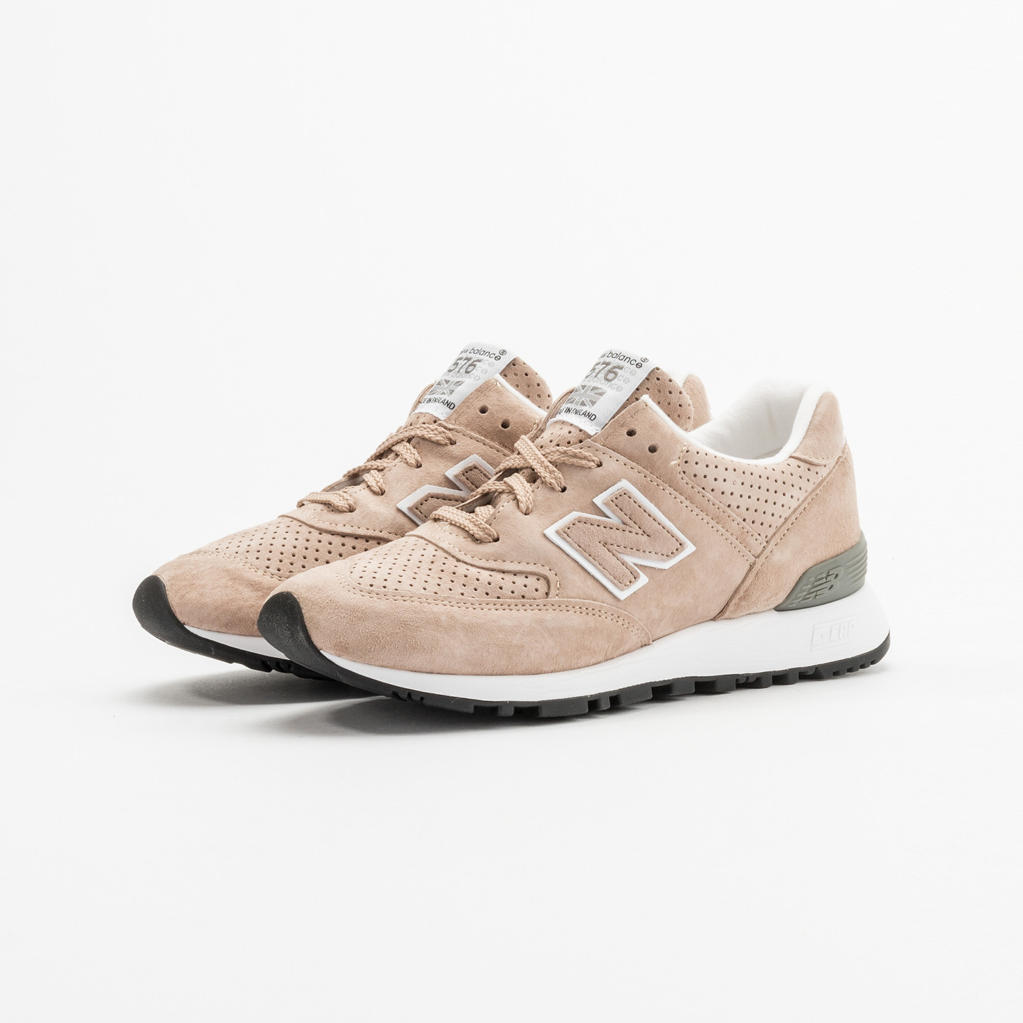 New Balance W576 TTO - Made in UK Light Brown / White W576TTO-37.5