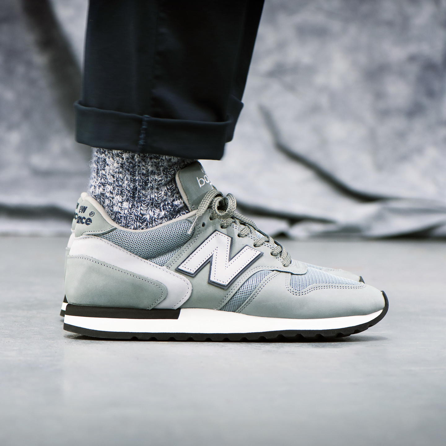 New Balance M770 FA - 35th Anniversary Grey / Navy / Light Grey M770FA