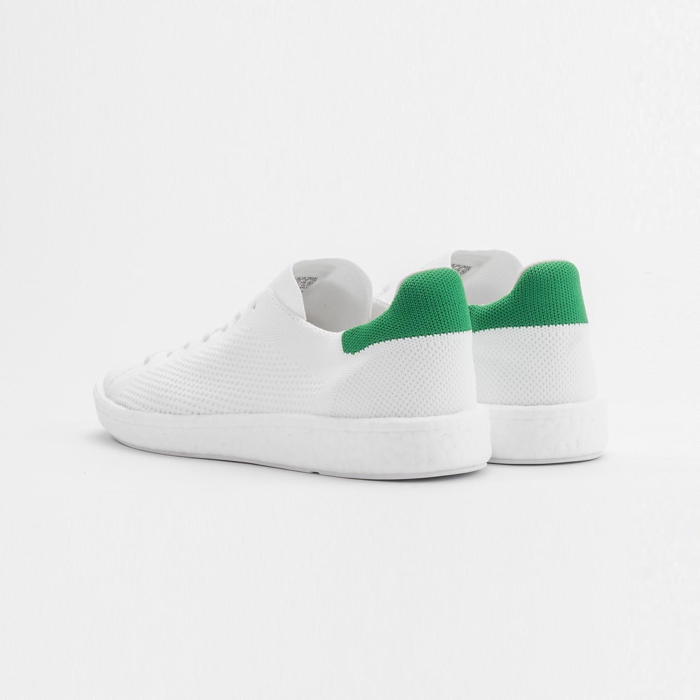 7da240239dd Adidas Stan Smith Boost PK Ftwr White   Green BB0013-44
