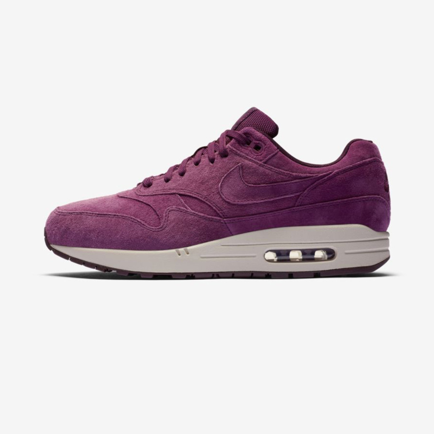 Nike Air Max 1 Bordeaux / Desert Sand 875844-602