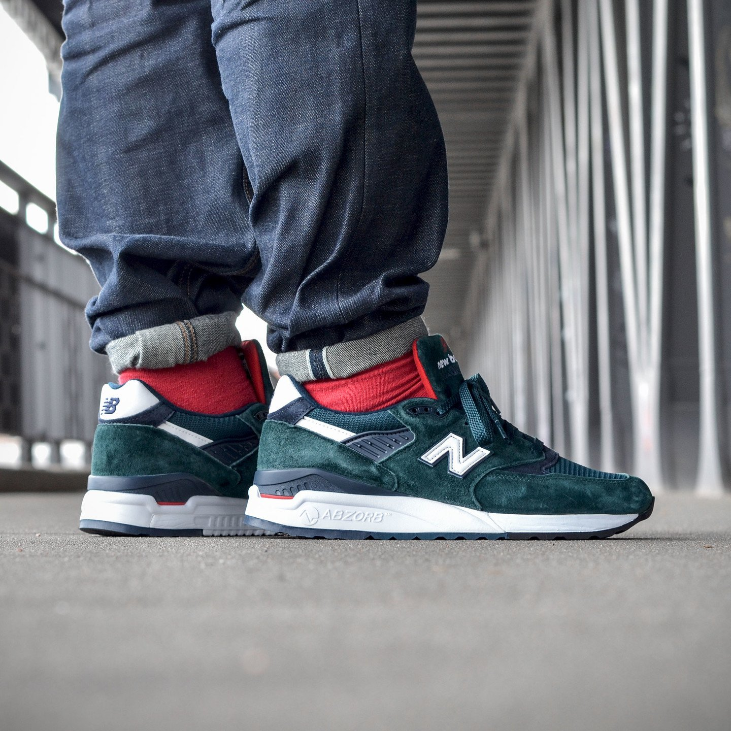 New Balance M998 Made in USA Dark Green M998CHI-45