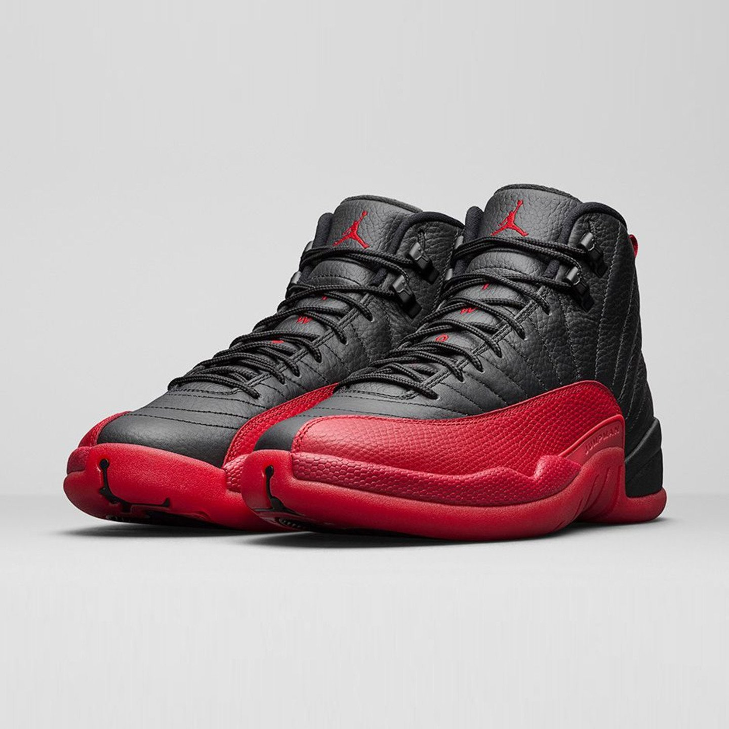 Jordan Air Jordan 12 Retro 'Flu Game' Black / Varsity Red 130690-002-43