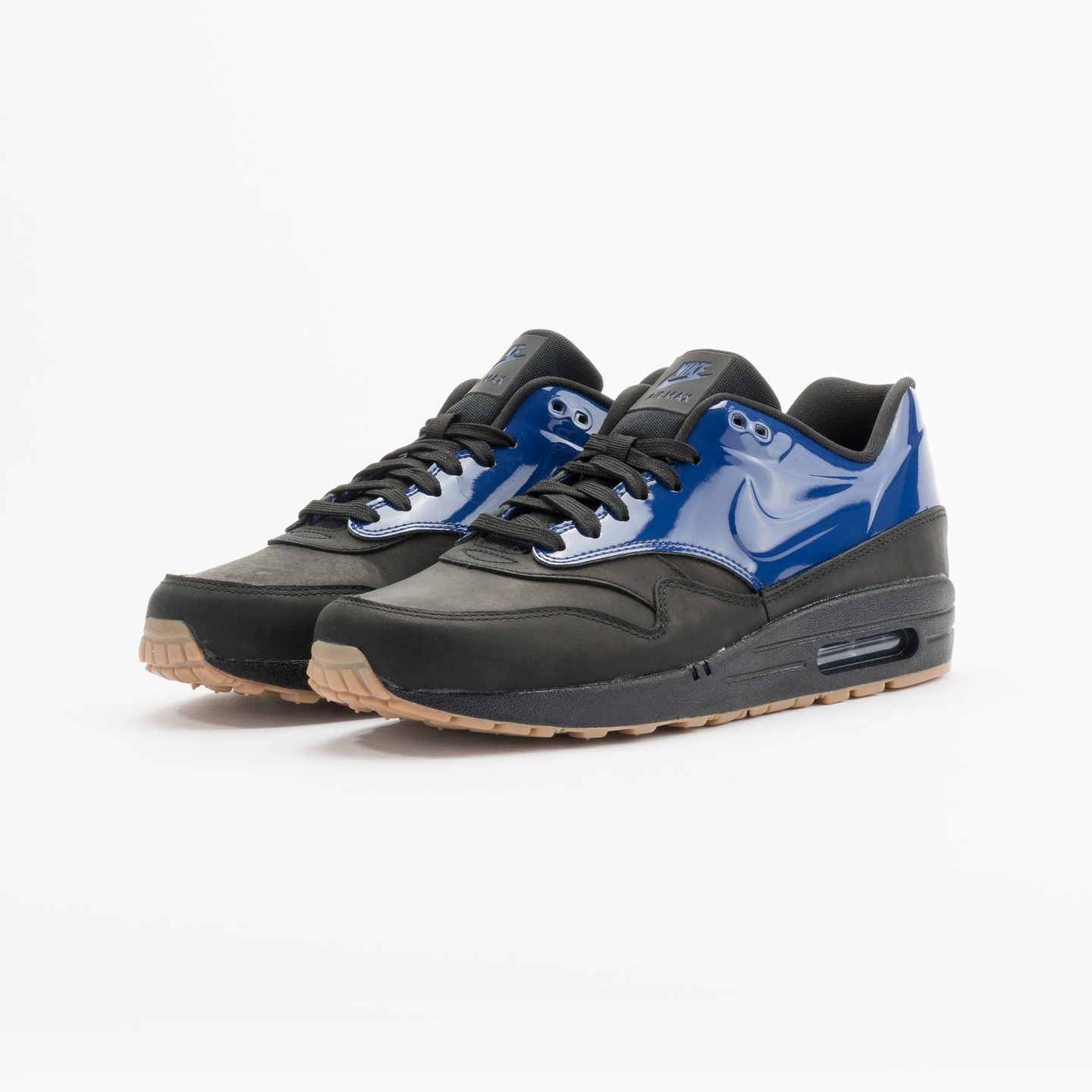 Nike Air Max 1 Vac Tech QS Deep Royal Blue / Black 831113-400-38.5