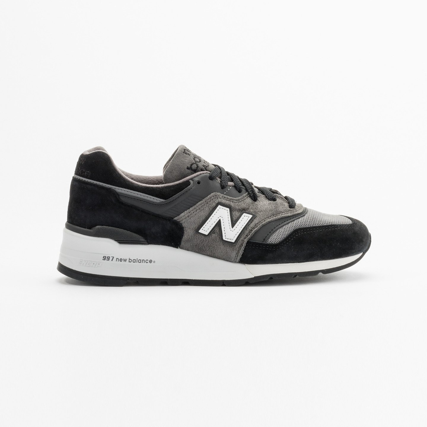 New Balance M997 Made in USA Grey / Black / White M997CUR-44.5