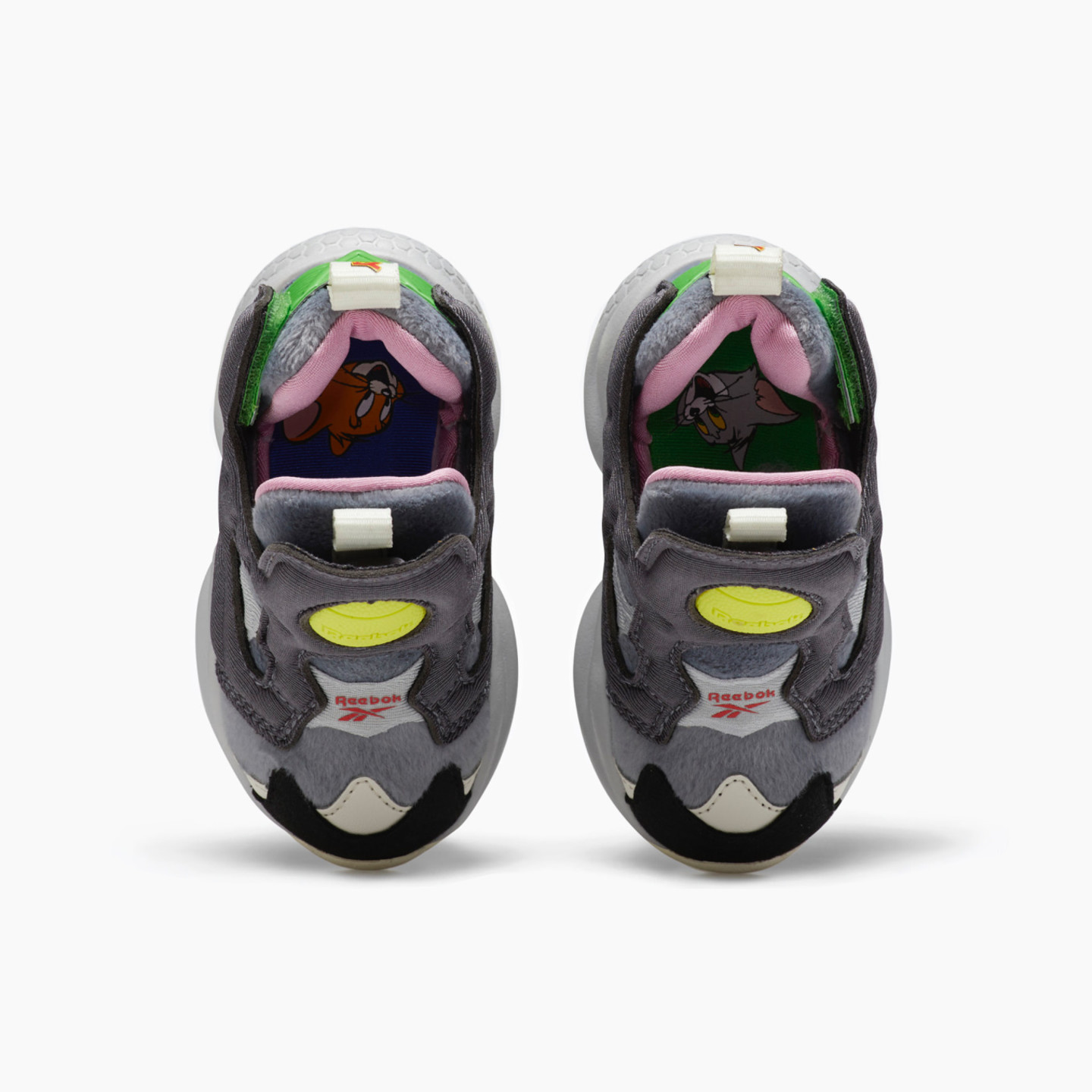 Reebok Versa Pump Fury 'Tom & Jerry' Cold Grey / Hero Yellow / Black FW4660