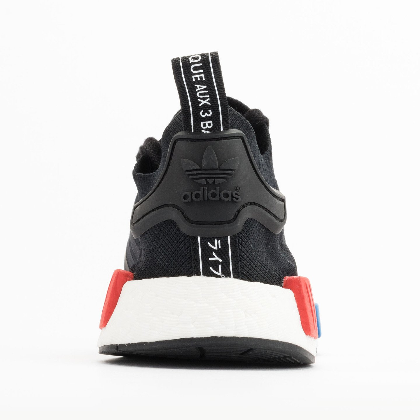 Adidas NMD Runner PK Primeknit Black / Red / Blue / White S79168-38