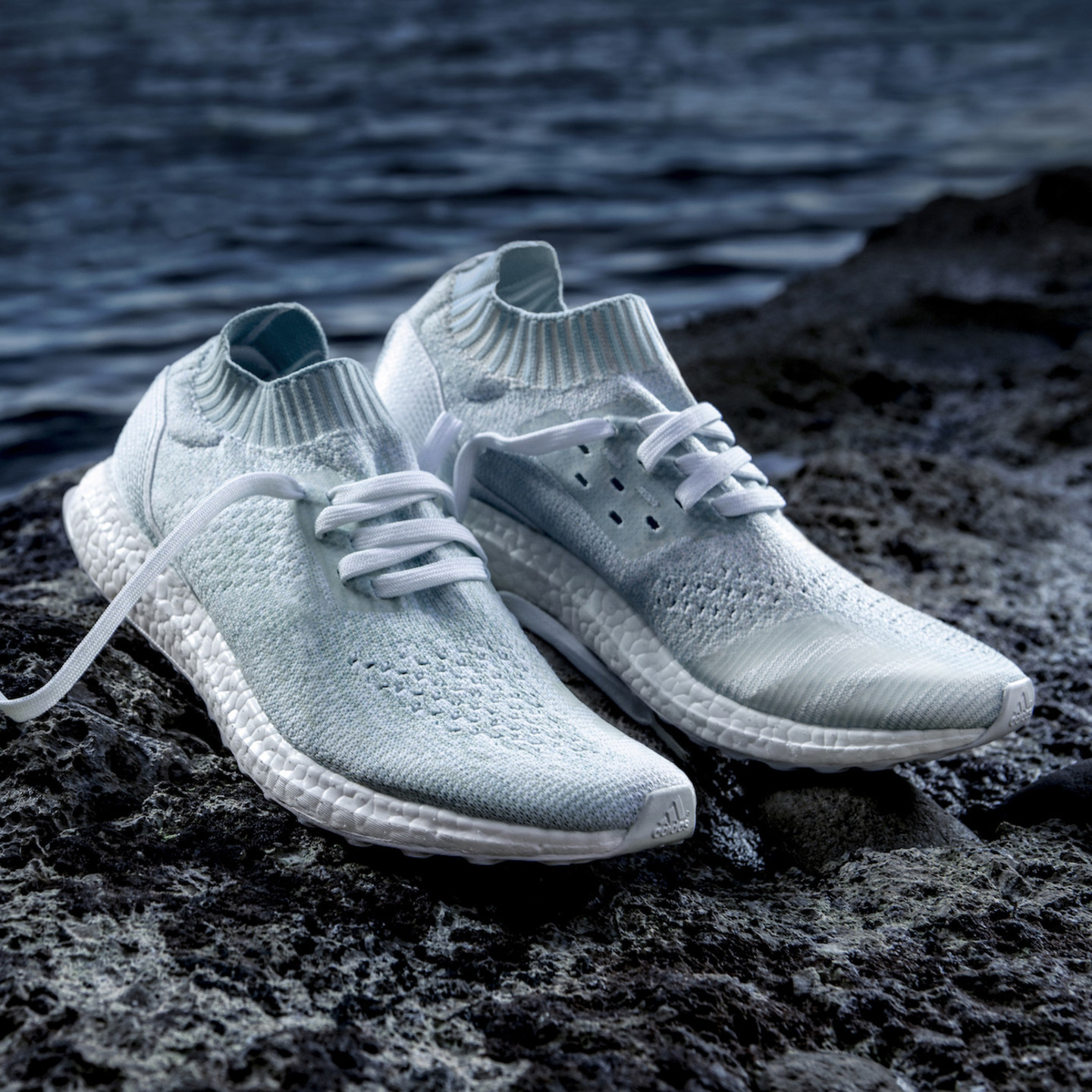 Adidas Ultra Boost Uncaged - Parley Oceans Ftwr White / Ice Blue CP9686