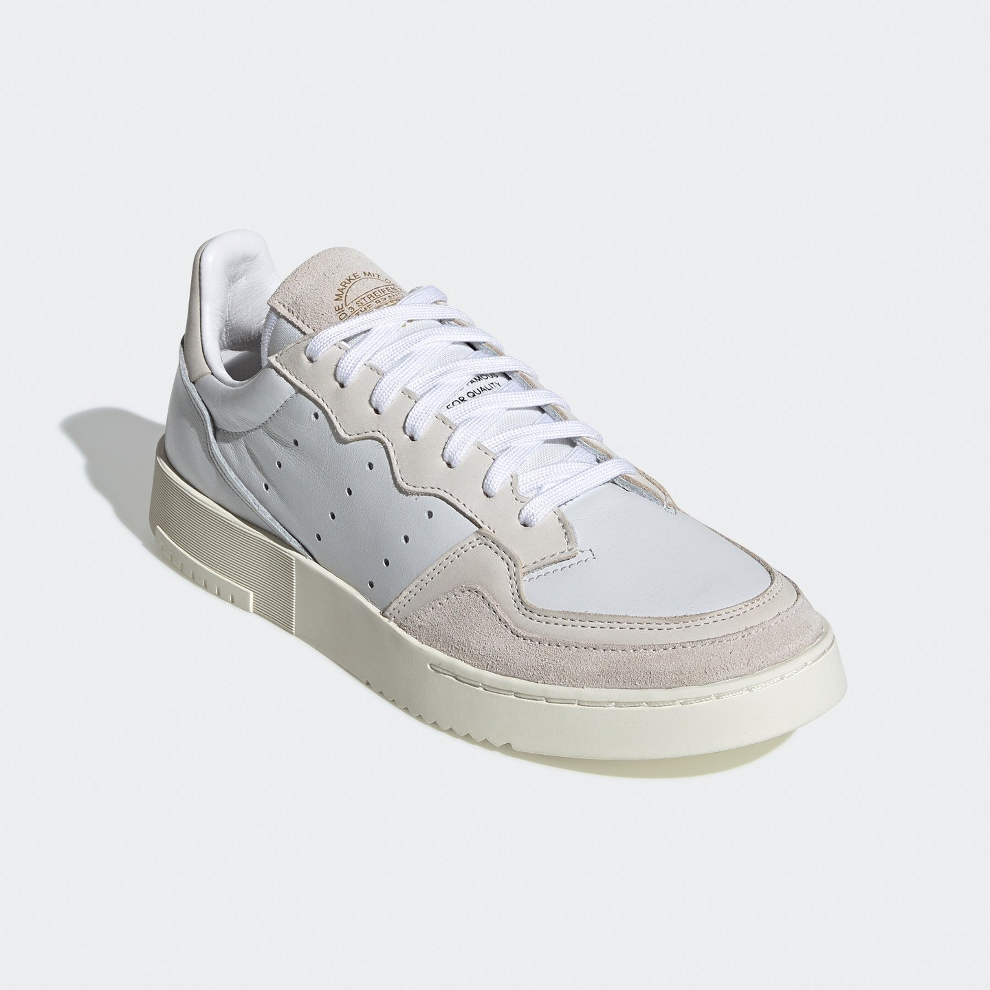 Adidas Supercourt Crystal White / Chalk White / Off White EE6024