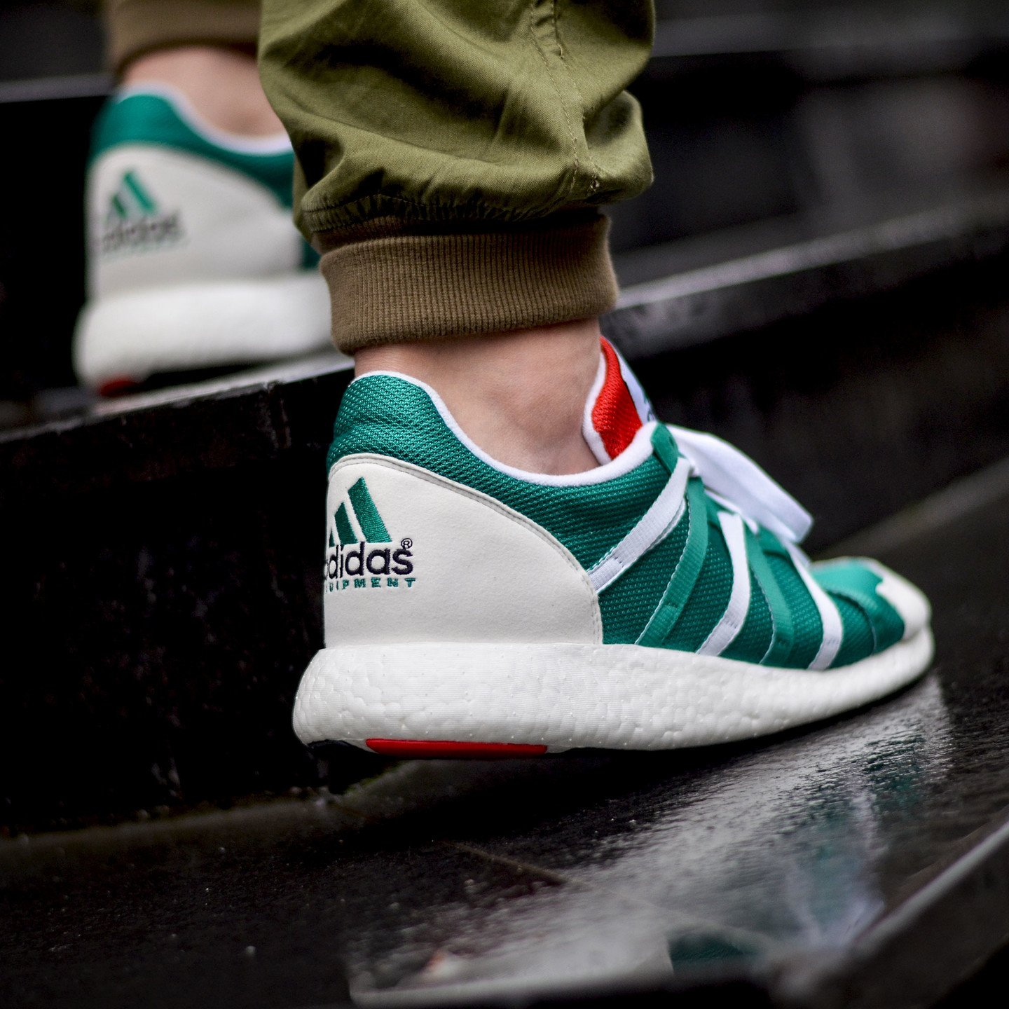 Adidas Equipment Racing 93/16 Sub Green / Ftw White / Col Red S79122-46.66