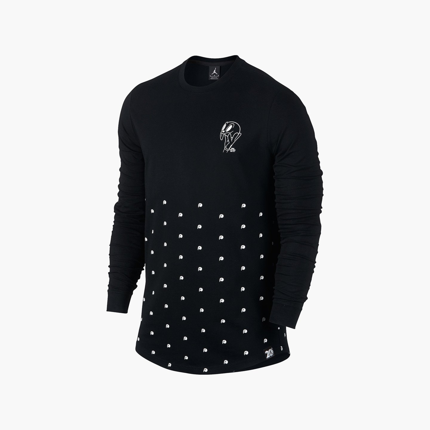 Jordan Air Jordan 11 Longsleeve Black / White 819121-010-XL