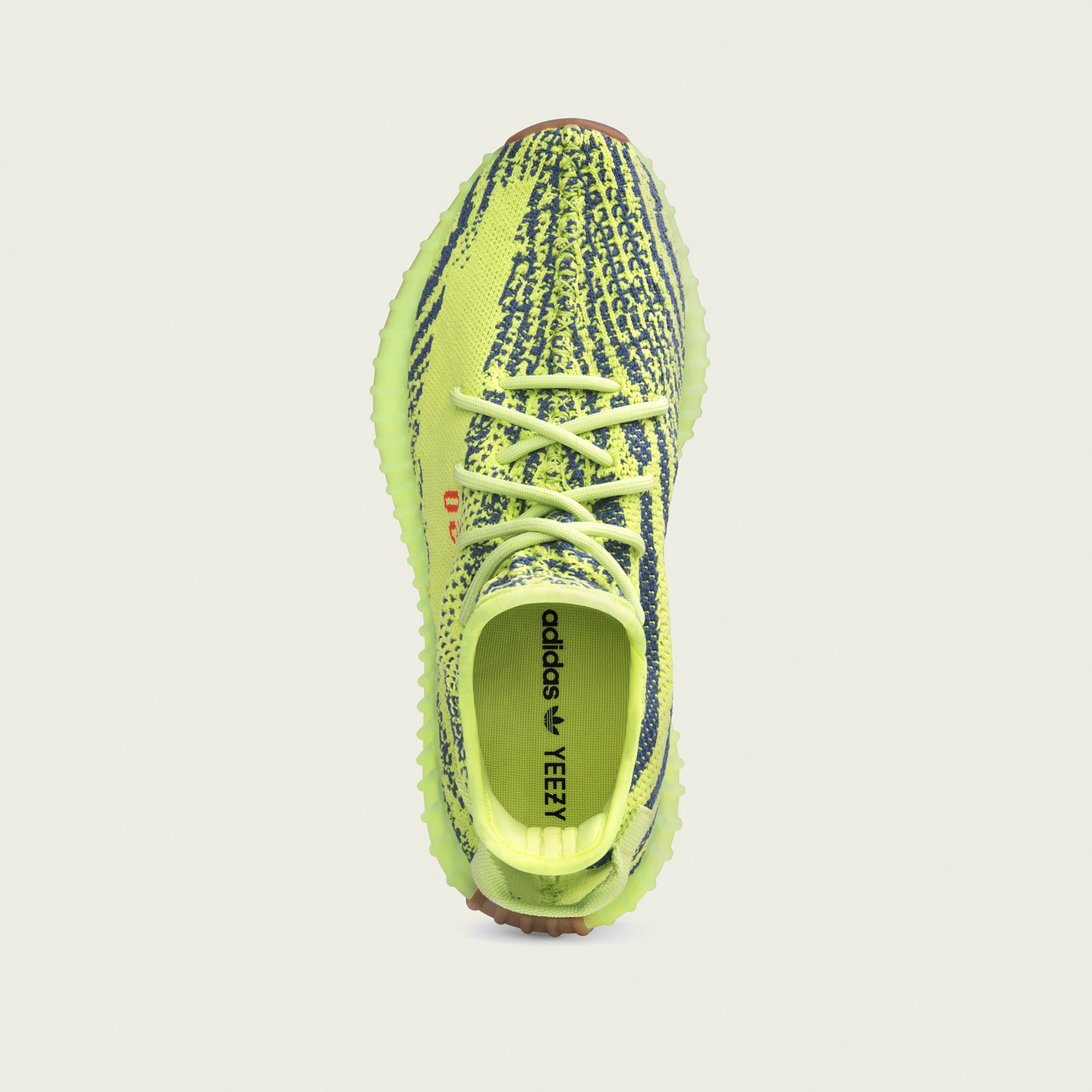Adidas Yeezy Boost 350 V2 'Semi Frozen Yellow' Sefrye / Rawste / Red B37572