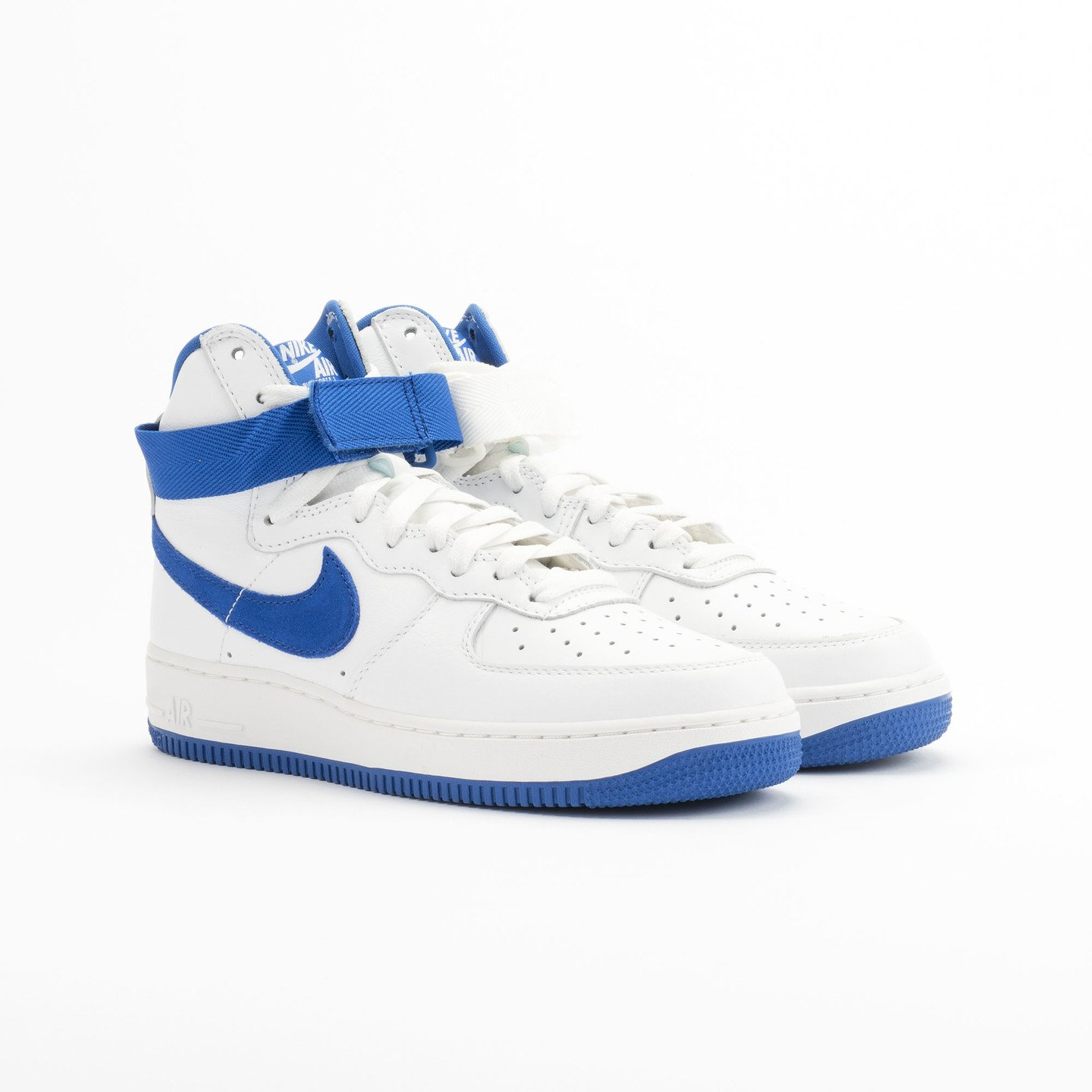 Nike Air Force 1 Hi Retro OG QS Summit White - Game Royal 743546-103-44