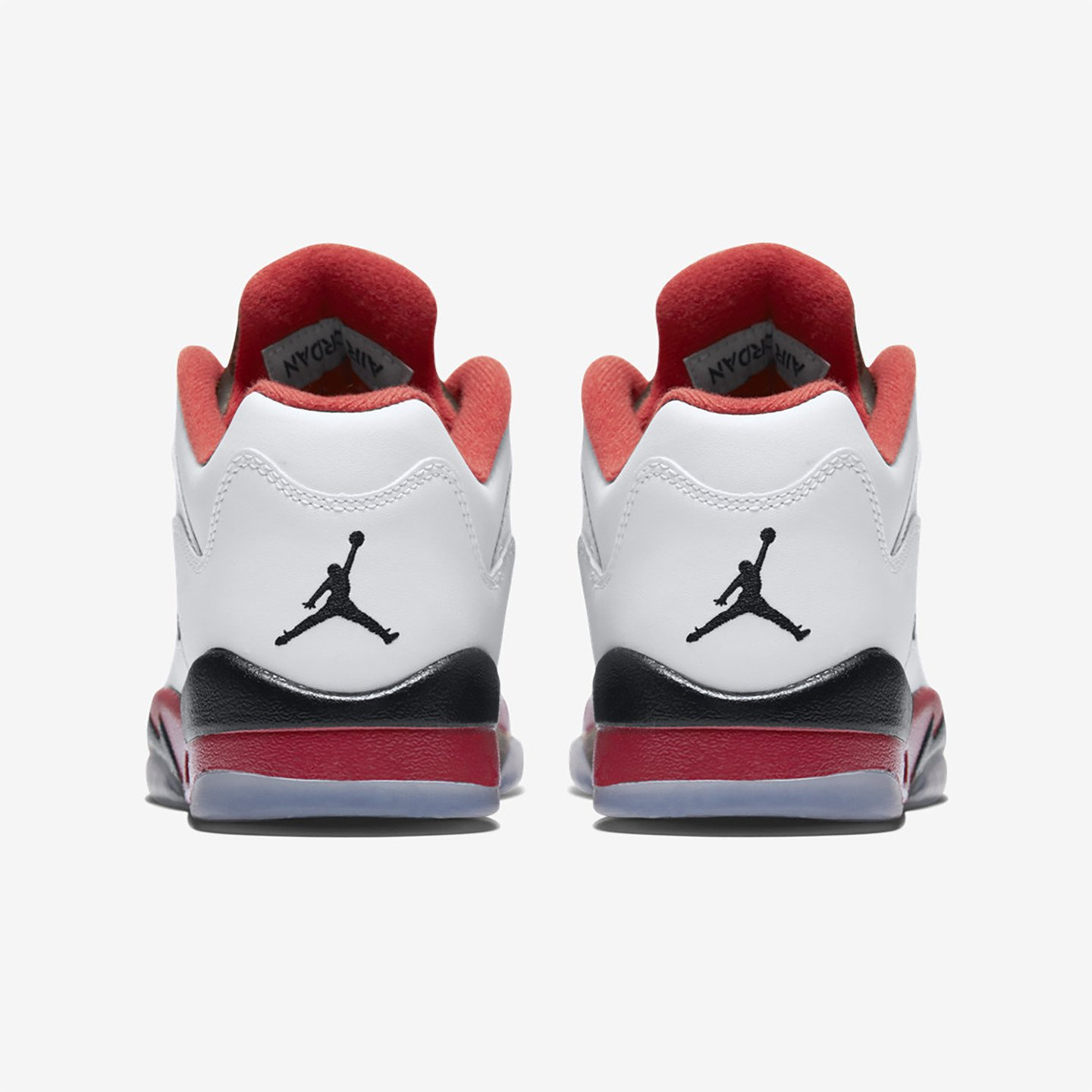 Jordan Air Jordan 5 Low Retro GS 'Fire Red' White / Fire Red / Black 314338-101-39