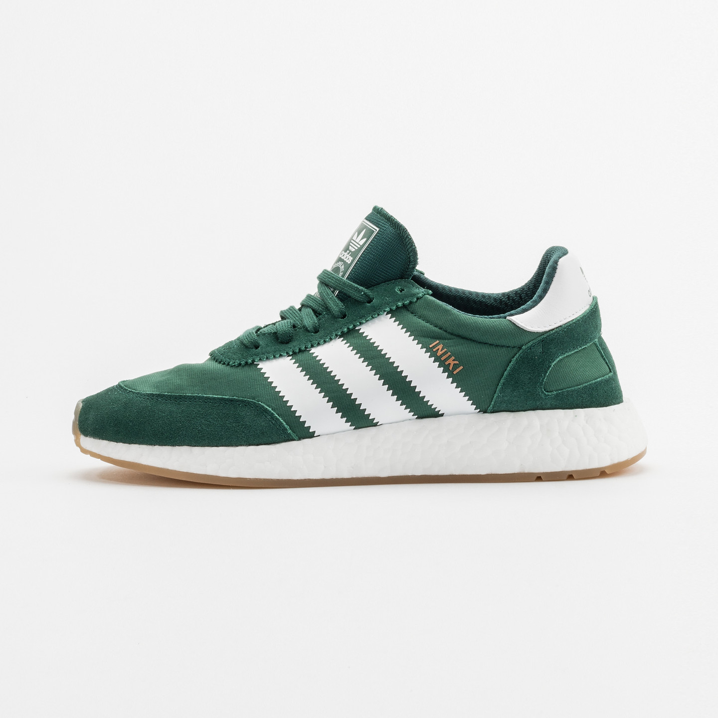 Adidas Iniki Runner Collegiate Green / White BY9726-46.66