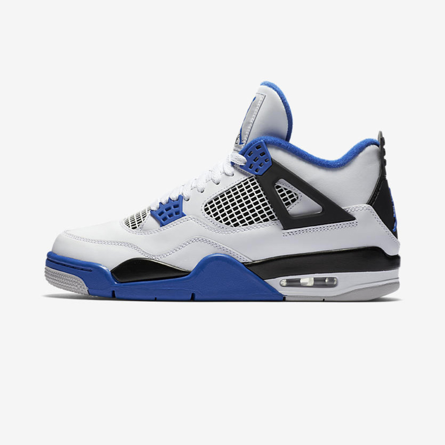Jordan Air Jordan 4 Retro 'Motorsport' White / Game Royal / Black 308497-117-42.5