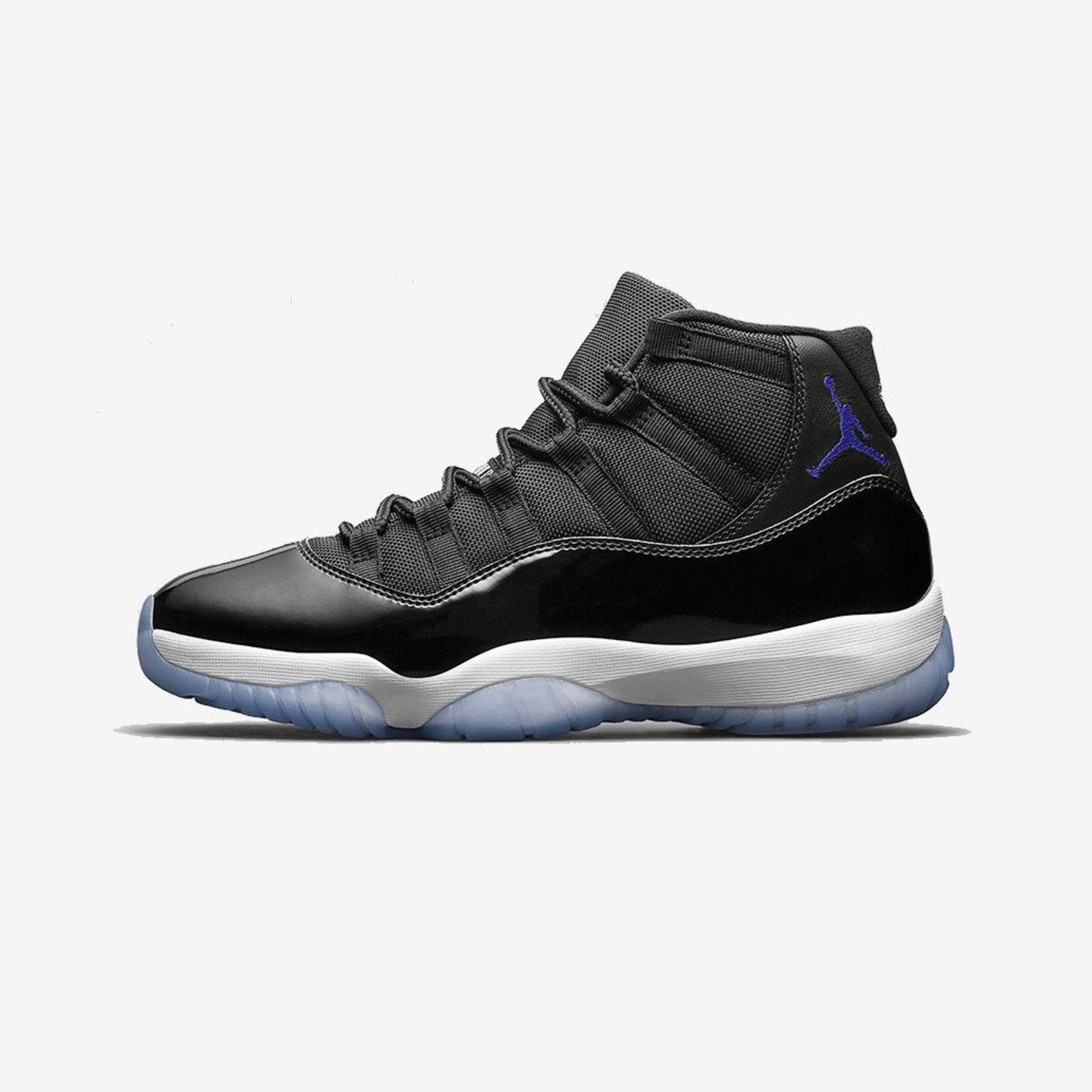 Jordan Air Jordan 11 Retro GS  'Space Jam' Black / Concord / White 378038-003-40