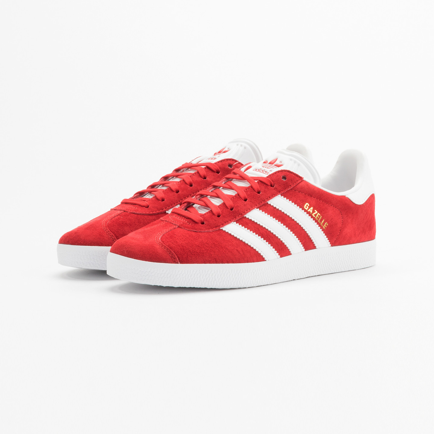 Adidas Gazelle  Scarlet Red / White / Gold Metallic S76228-40