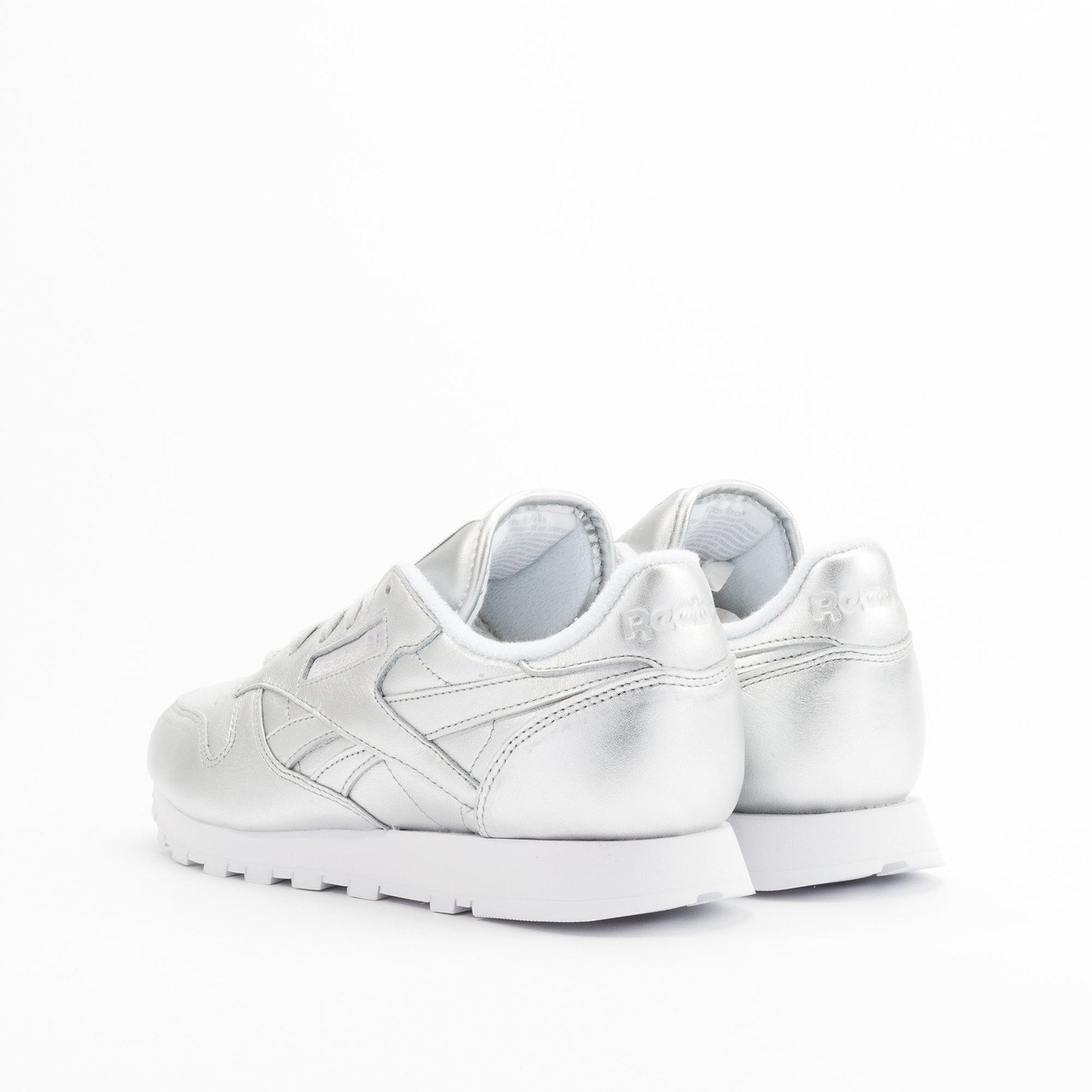 Reebok Classic Leather Spirit Presence Silver / White V62700-39