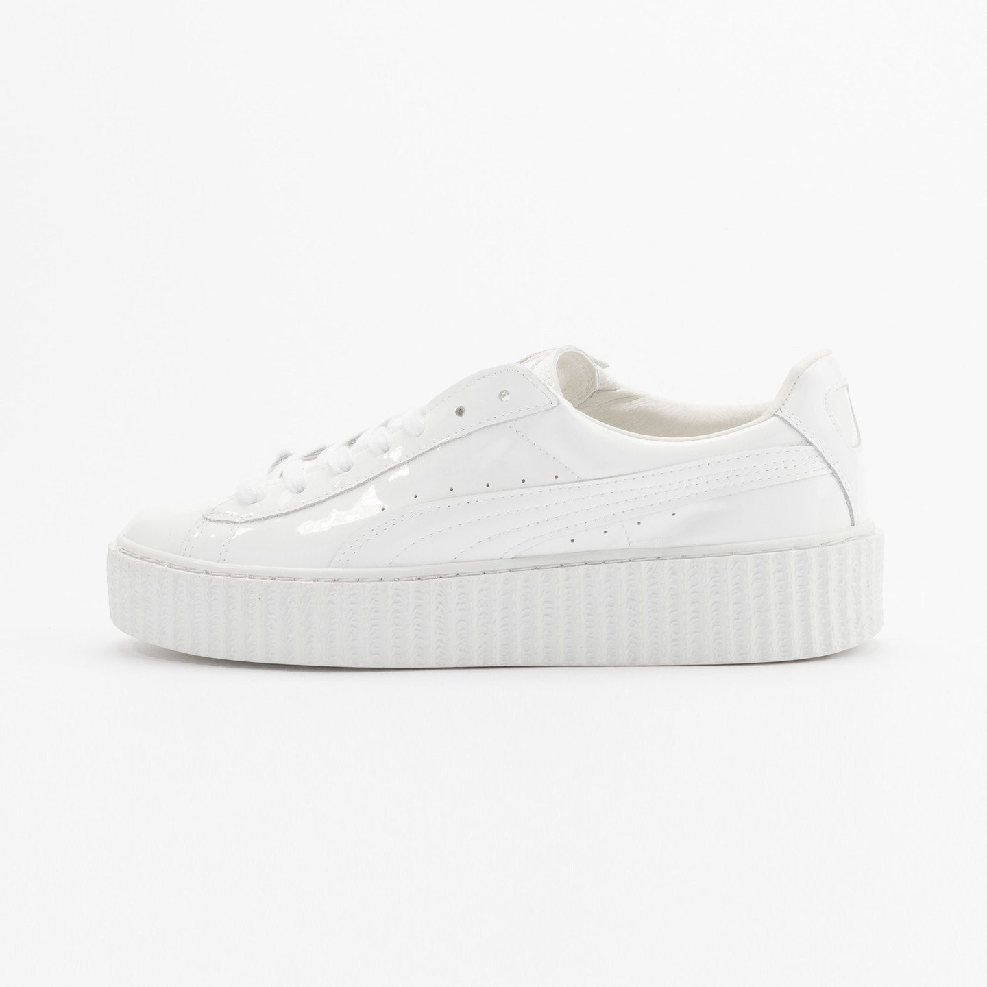 Puma Rihanna Basket Creepers Glo Triple White 362269 01-40
