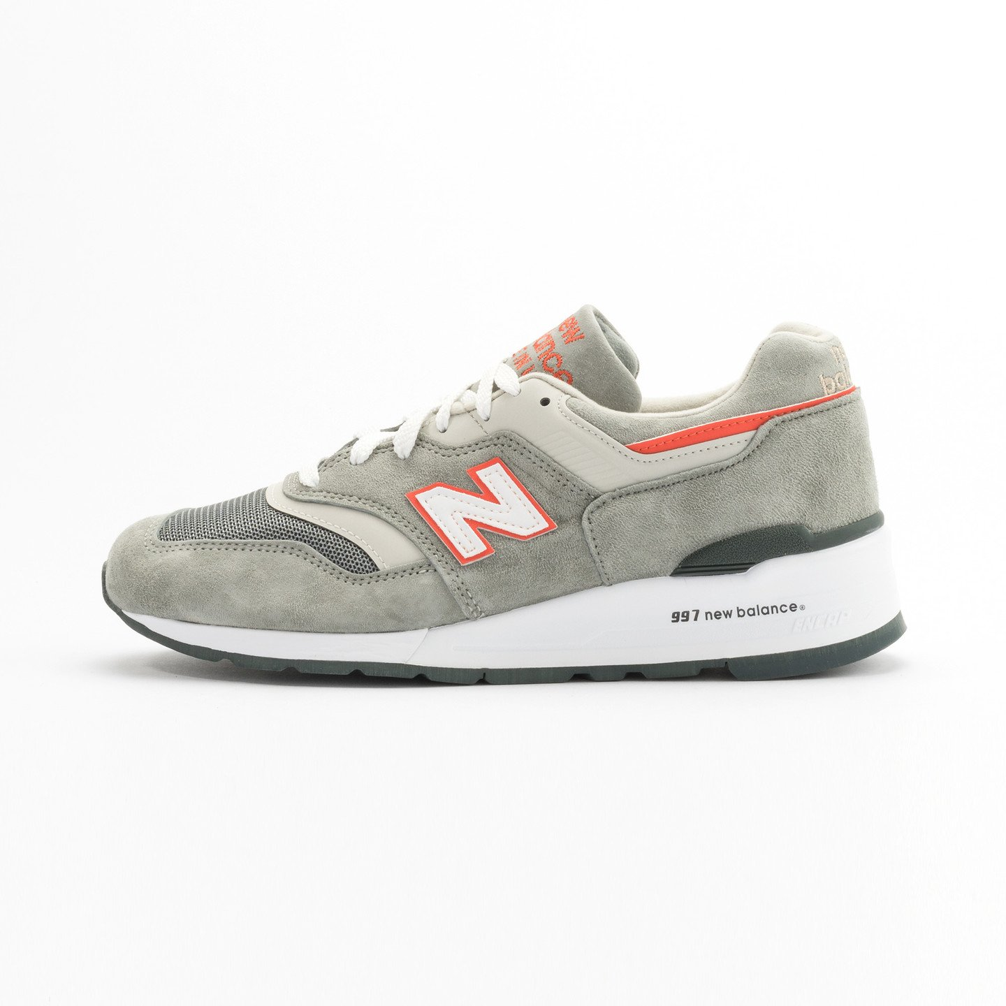 New Balance M997 Made in USA Grey / Orange M997CHT-42.5