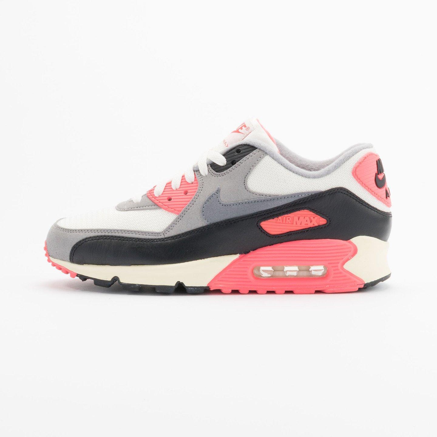 Nike Air Max 90 OG Vintage Infrared Sail/Cool Grey-Mdm Grey-Infrrd 543361-161-48.5