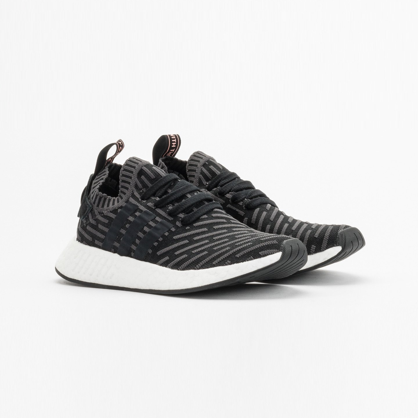 Adidas NMD R2 PK W Utility Black / Core Black / Light Peach BA7239-36.66