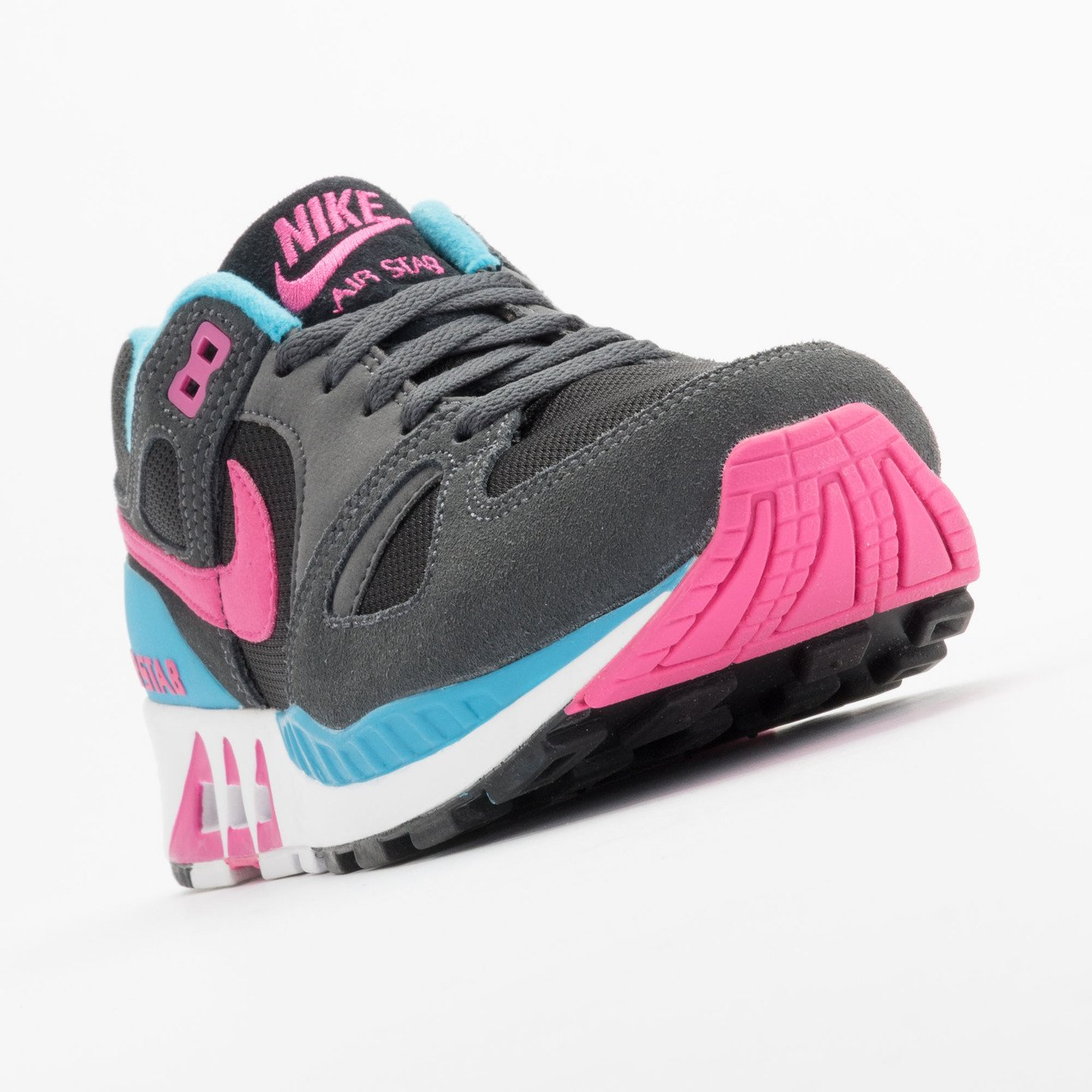 Nike Air Stab Black/Hot Pink-Anthrct-Bl Lgn 312451-004-40.5
