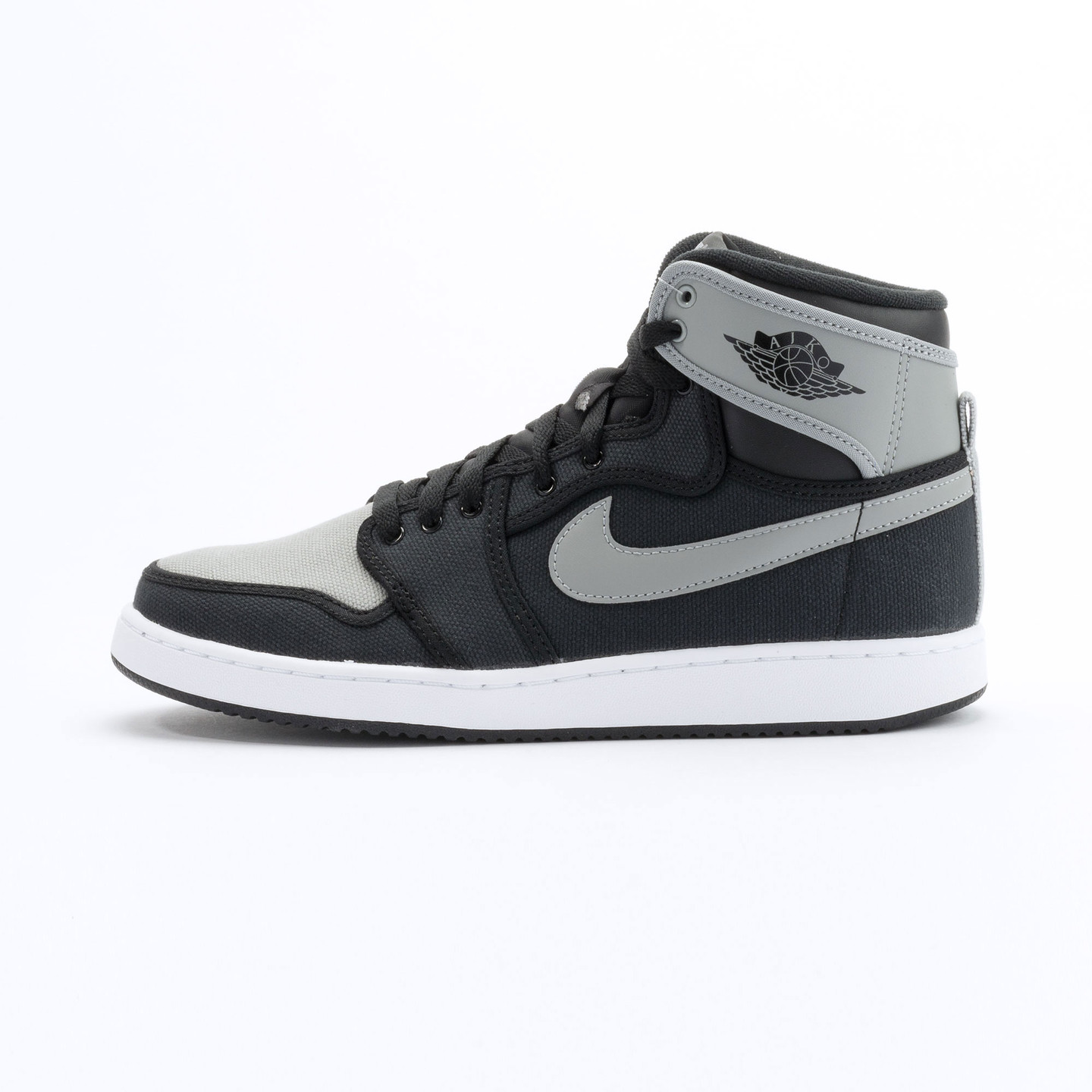 Nike Air Jordan 1 KO High OG Black / Shadow Grey / White 638471-003-45
