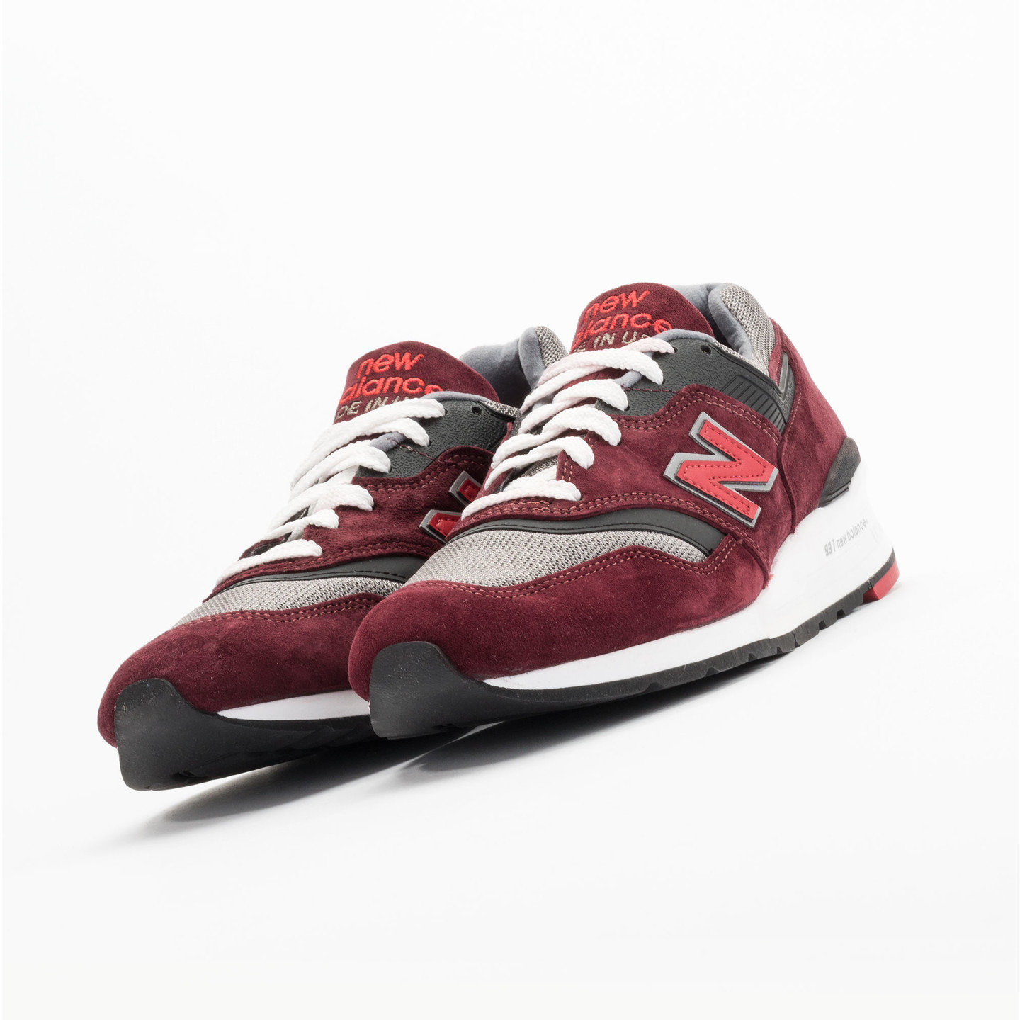 New Balance M997 CRG - Made in USA Brick Red / Black / Grey M997CRG-44.5