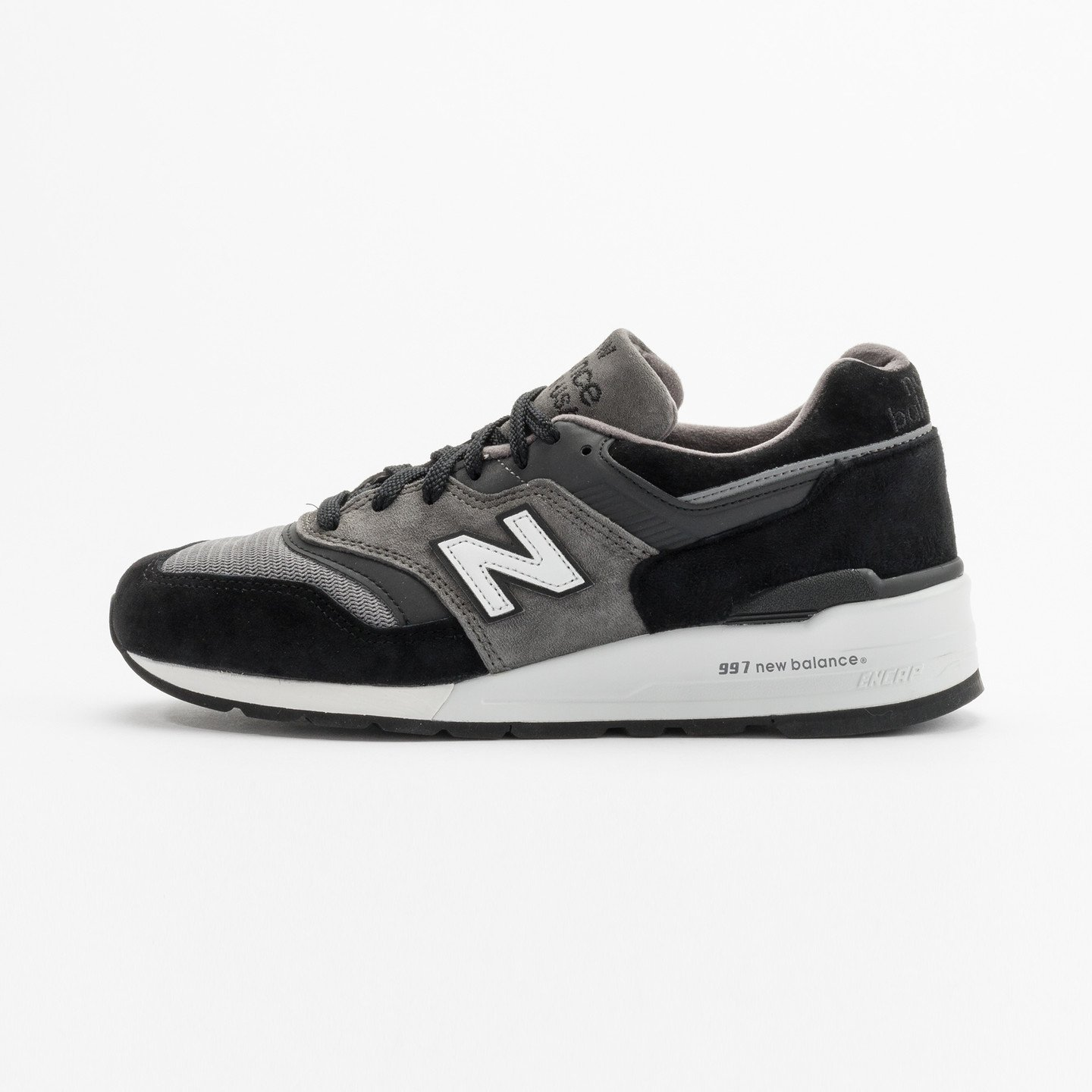 New Balance M997 Made in USA Grey / Black / White M997CUR-42
