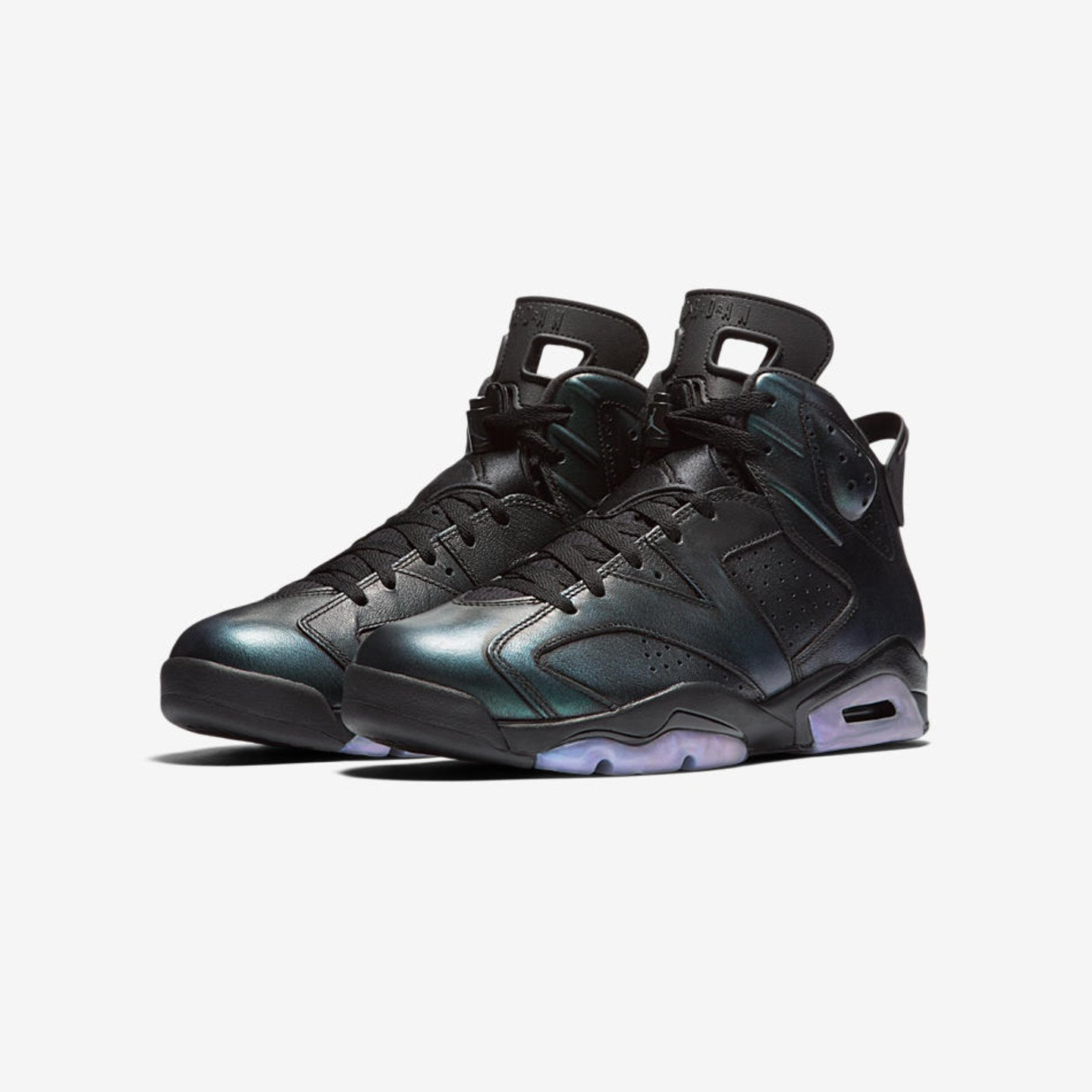 Jordan Air Jordan 6 Retro GS 'All Star' Black / Iridescent 907960-015-36