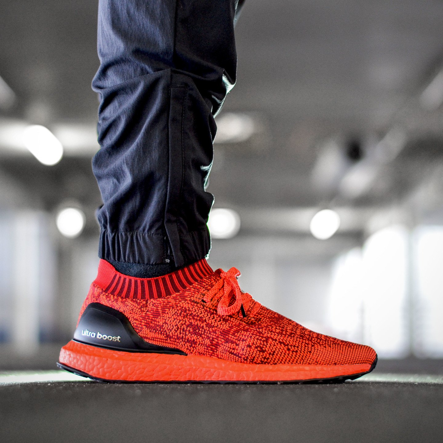 Adidas Ultra Boost Uncaged Ltd Scarlet / Solar Red / Core Black BB4678-45.33