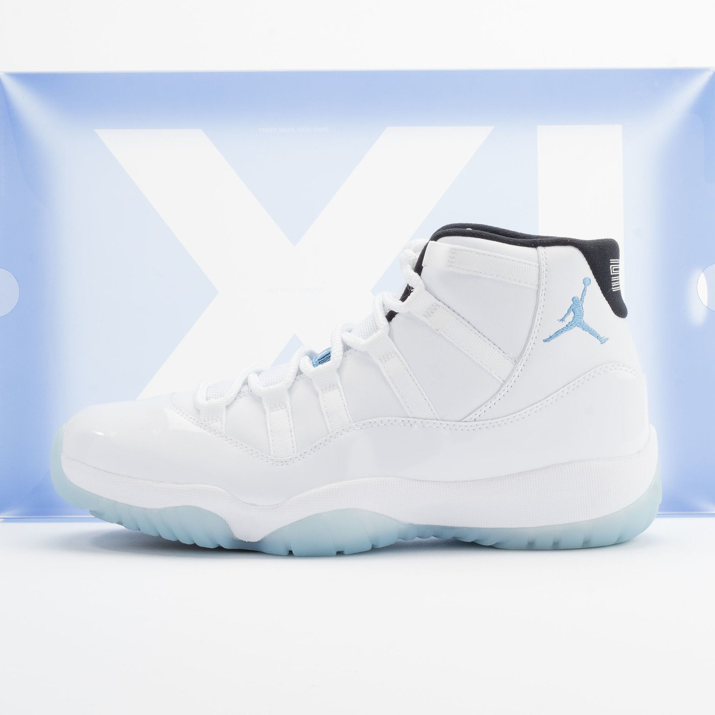 Jordan Air Jordan 11 Retro White/Legend Blue-Black 378037-117-42.5